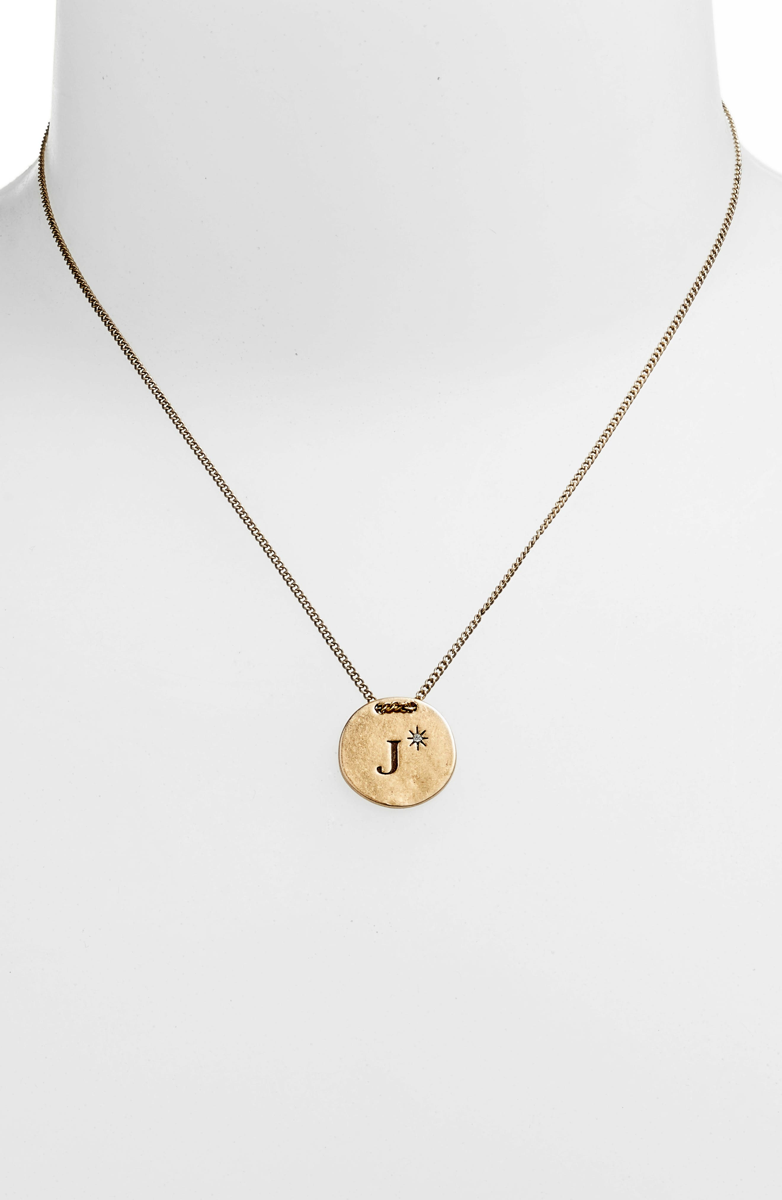 Initial Collar Necklace,                             Alternate thumbnail 72, color,