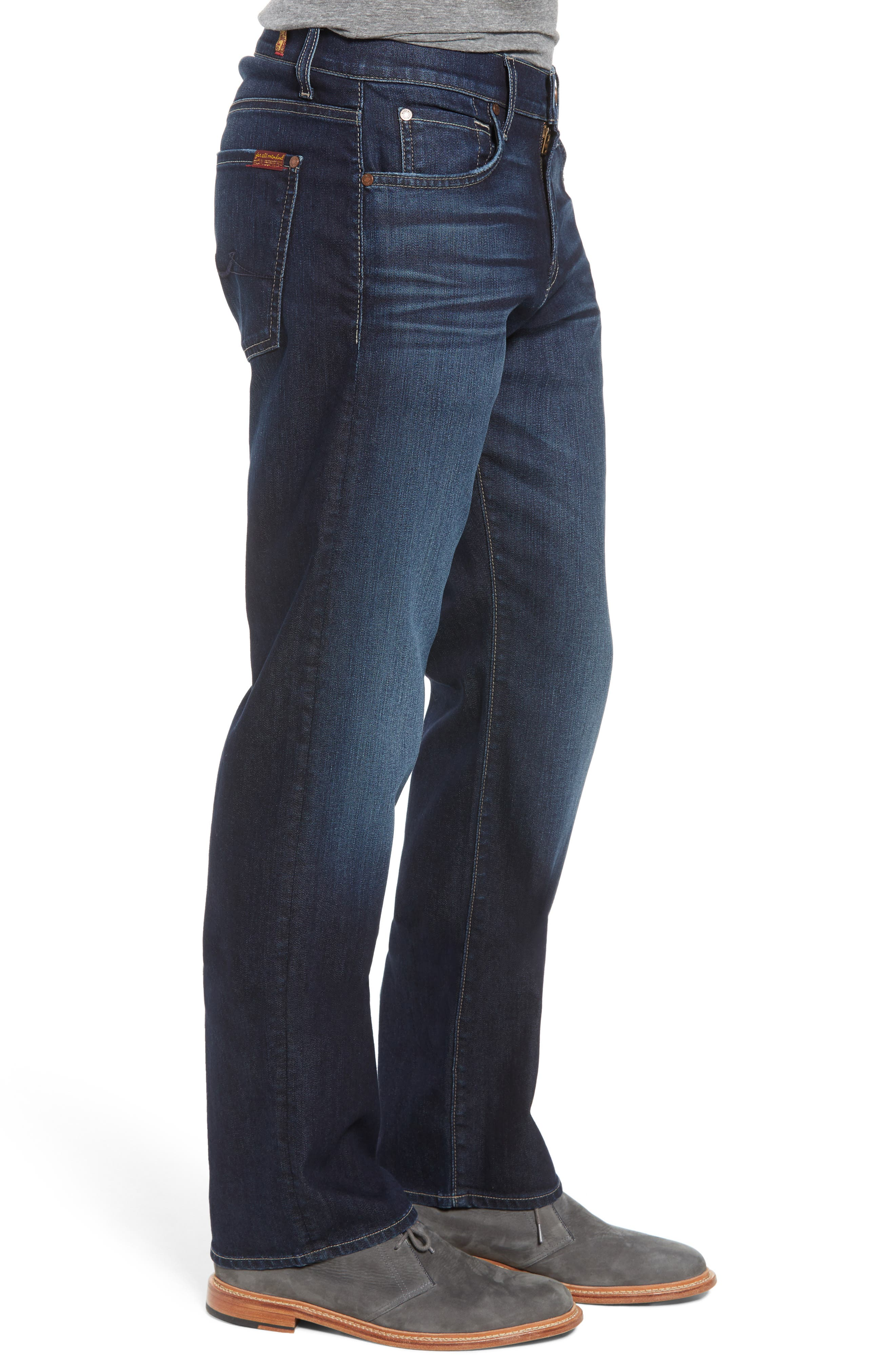 Airweft Austyn Relaxed Straight Leg Jeans,                             Alternate thumbnail 3, color,                             406