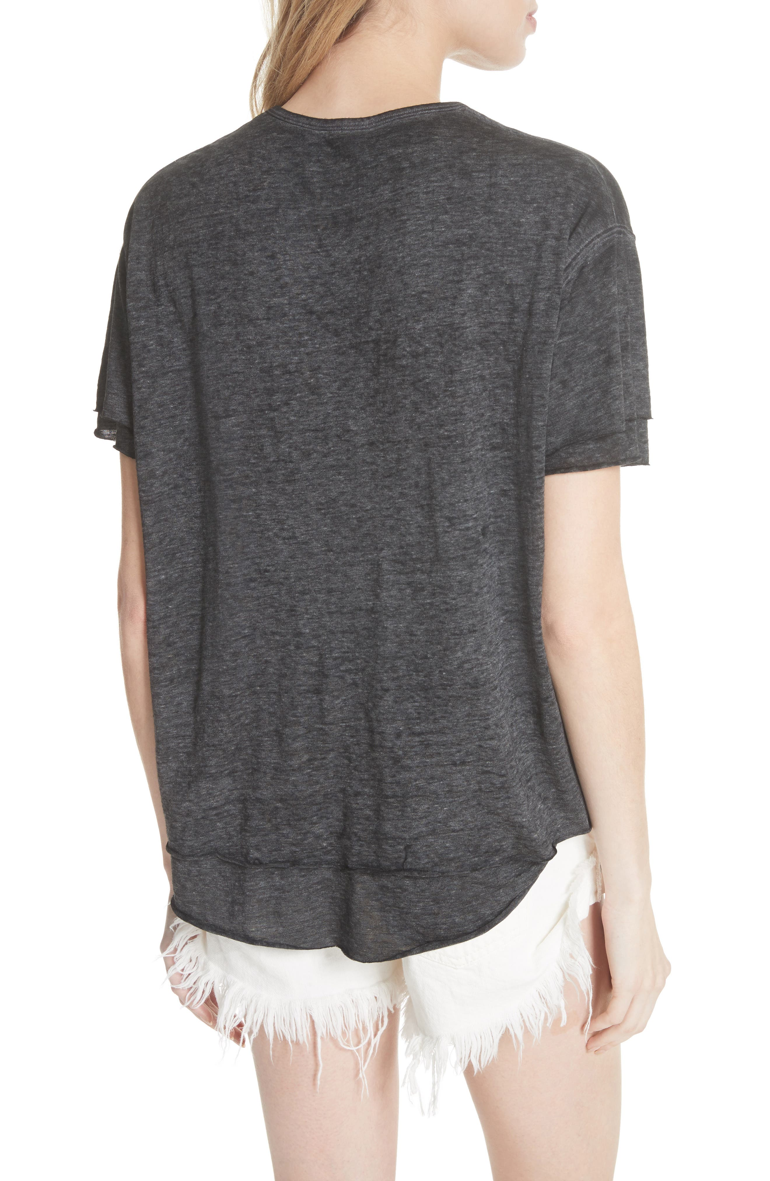 We the Free by Free People Cloud Nine Tee,                             Alternate thumbnail 2, color,                             089