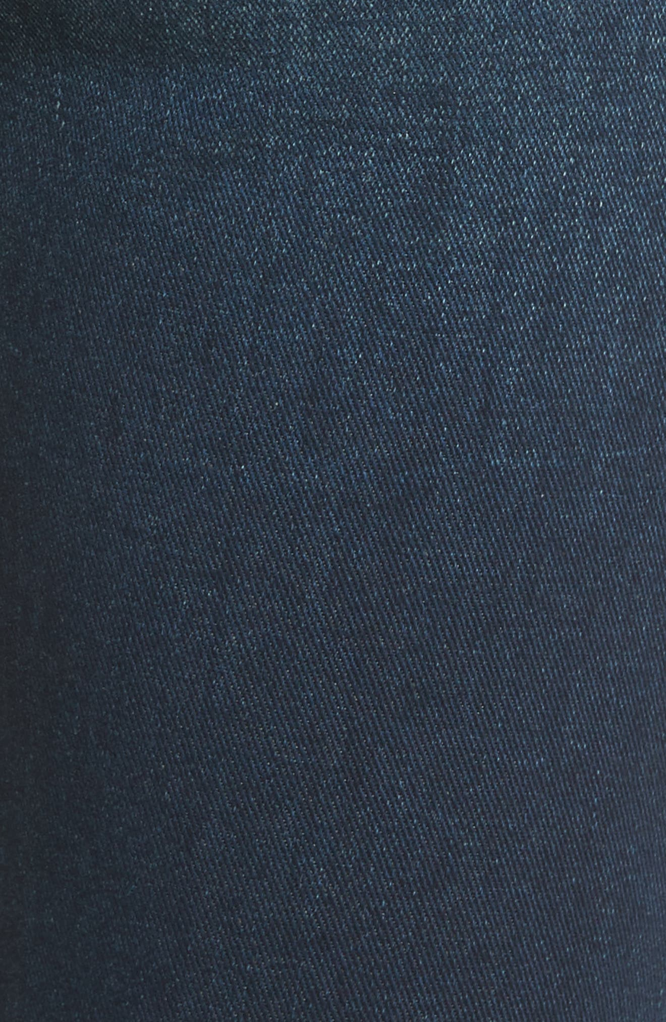 The Looker High Waist Ankle Skinny Jeans,                             Alternate thumbnail 5, color,                             408