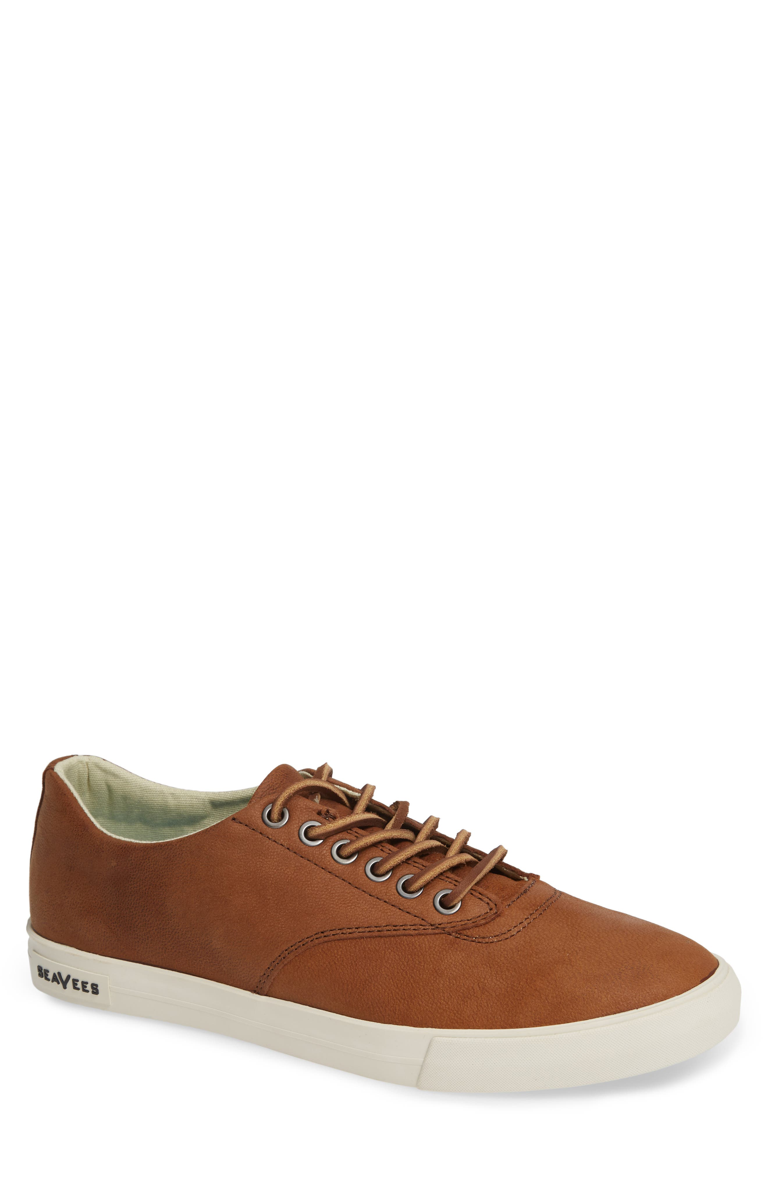 Hermosa Sneaker,                         Main,                         color, WHISKEY LEATHER