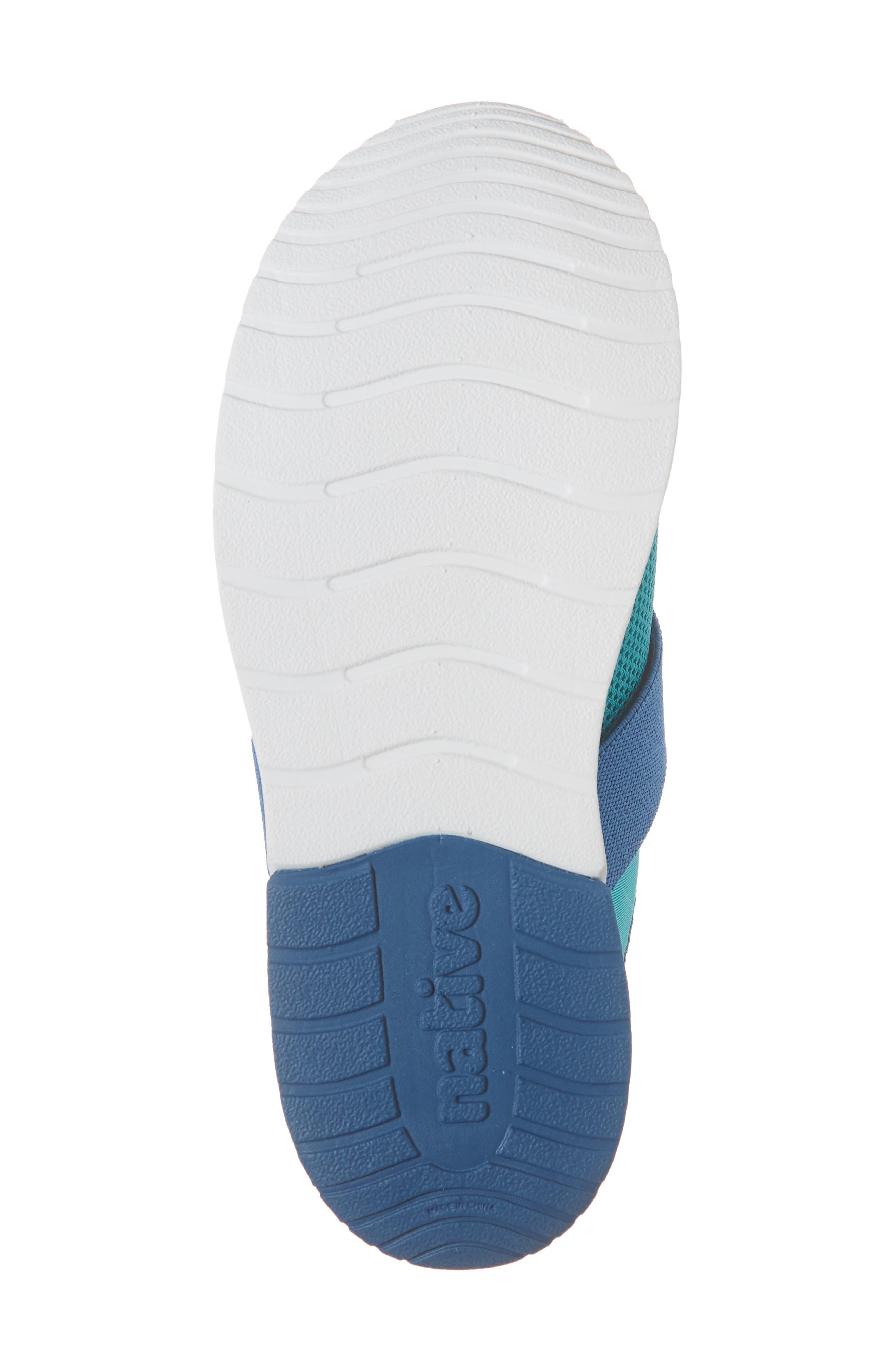 NATIVE SHOES,                             Phoenix Slip-On Vegan Sneaker,                             Alternate thumbnail 6, color,                             GLACIER GREEN/ BLUE/ WHITE