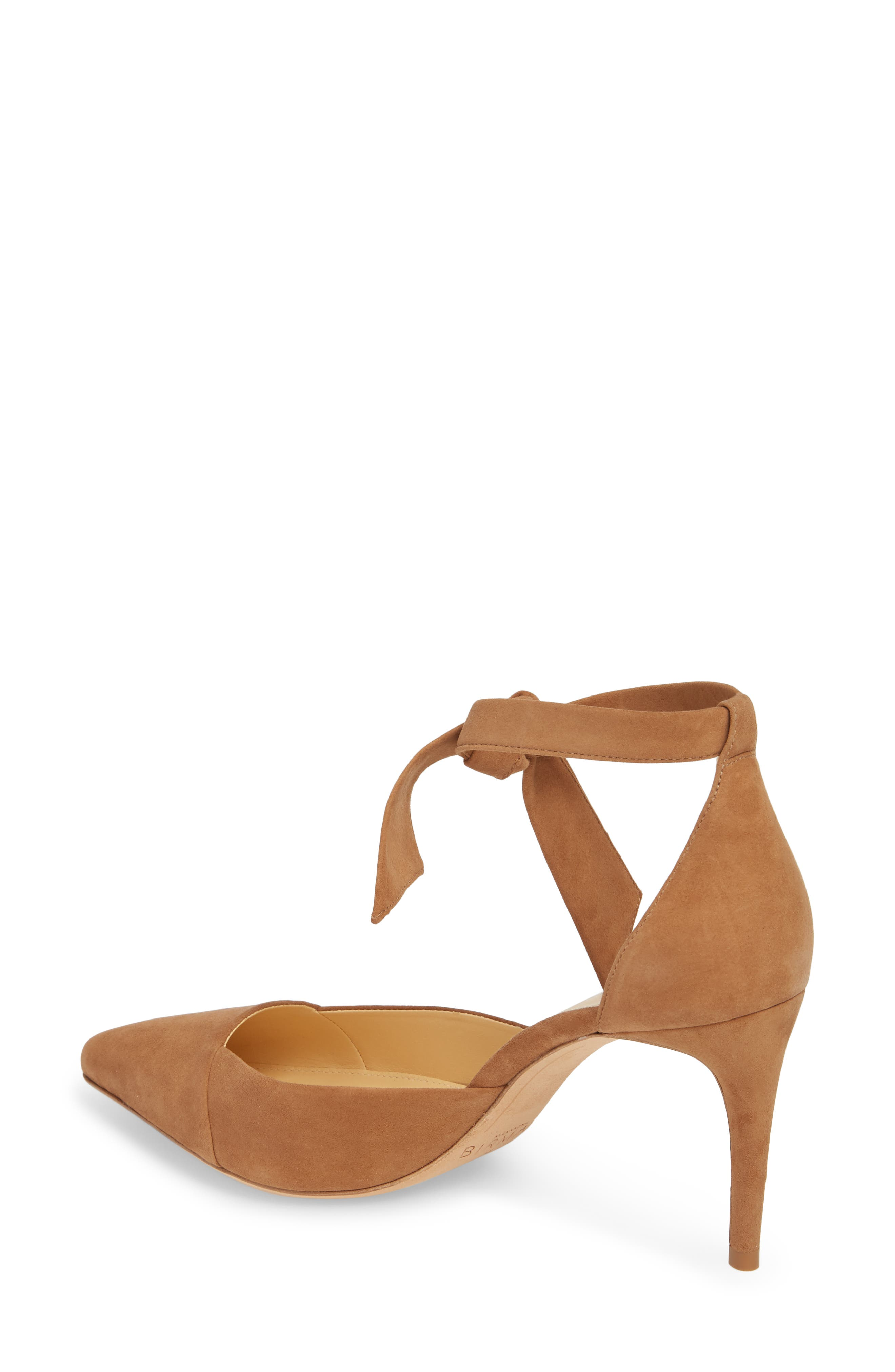 Azalea Tie Strap Pump,                             Alternate thumbnail 2, color,                             LIGHT BEIGE