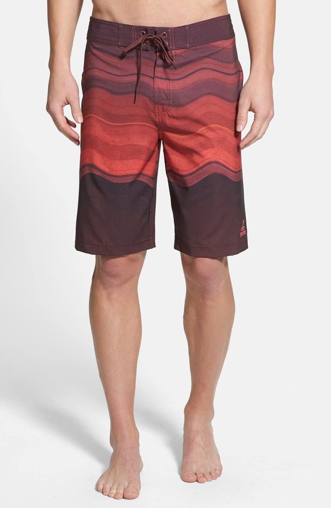 'Sediment' Stretch Board Shorts,                             Main thumbnail 8, color,