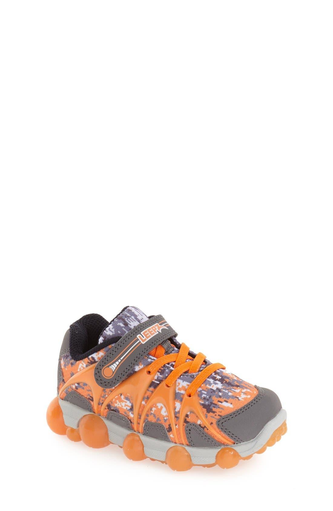 'Leepz' Light-Up Sneaker,                             Main thumbnail 4, color,