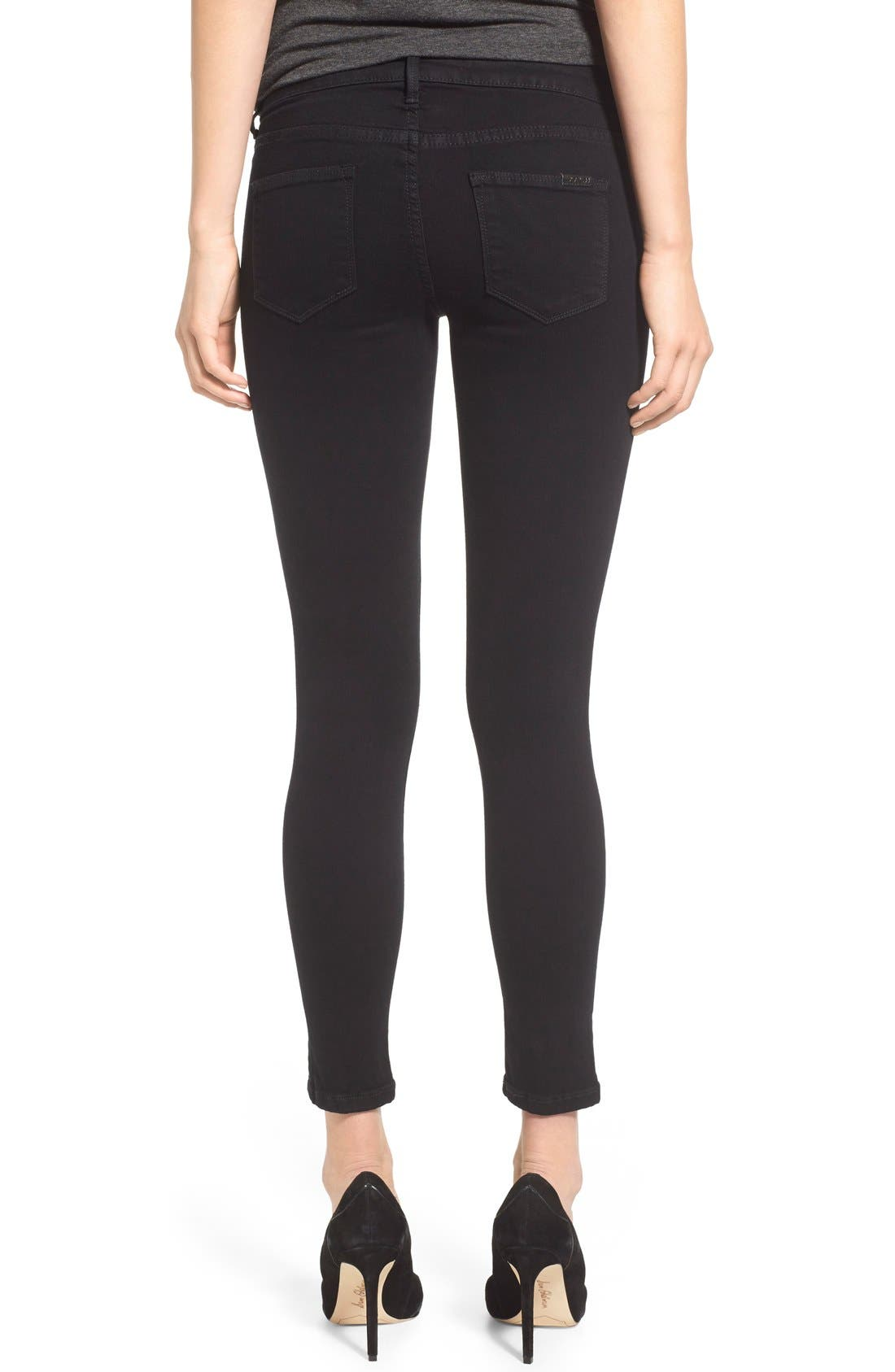 'Flawless - Vixen' Ankle Skinny Jeans,                             Alternate thumbnail 5, color,                             001
