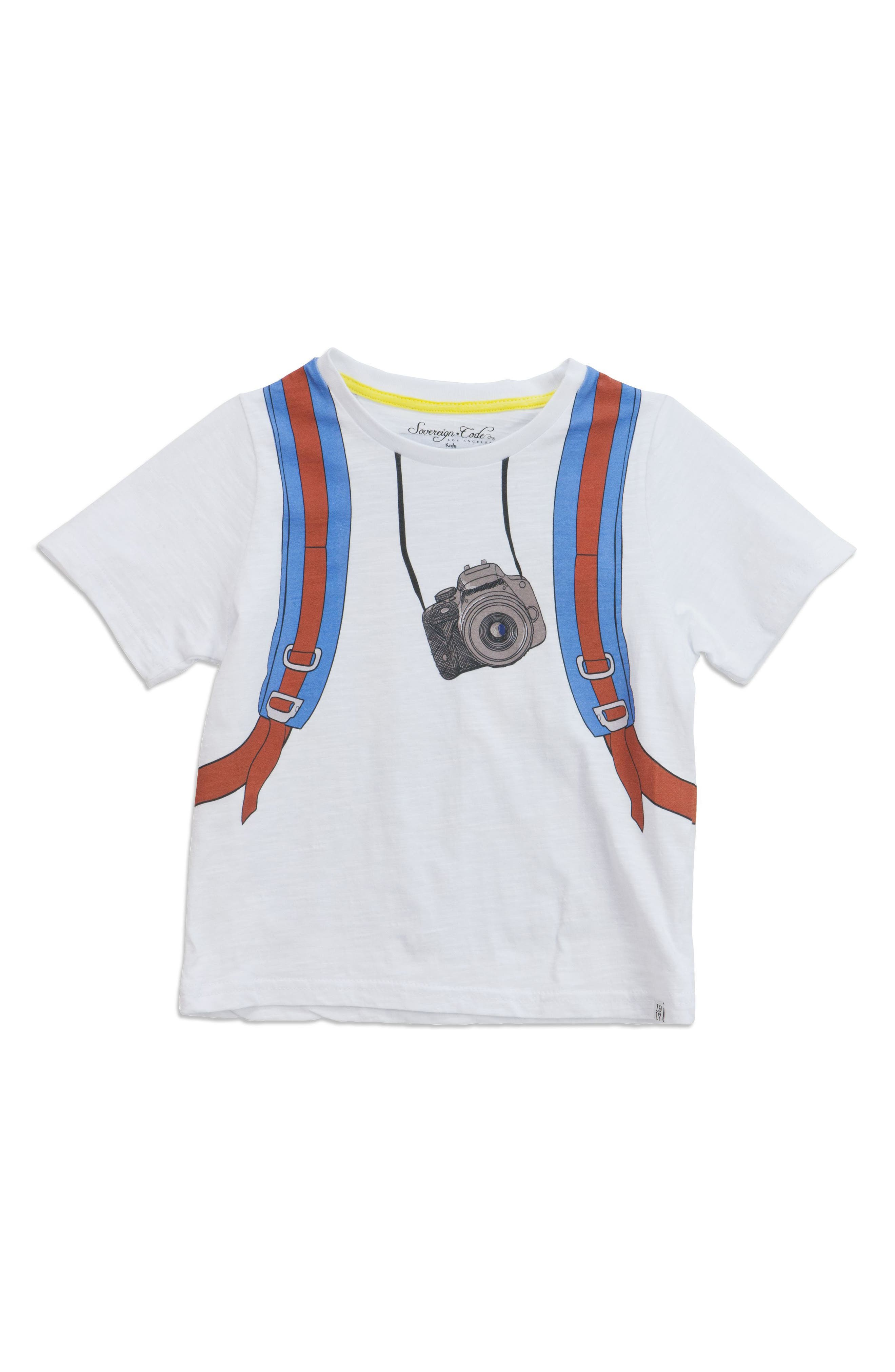 Game Play Photographer Graphic T-Shirt,                             Main thumbnail 1, color,