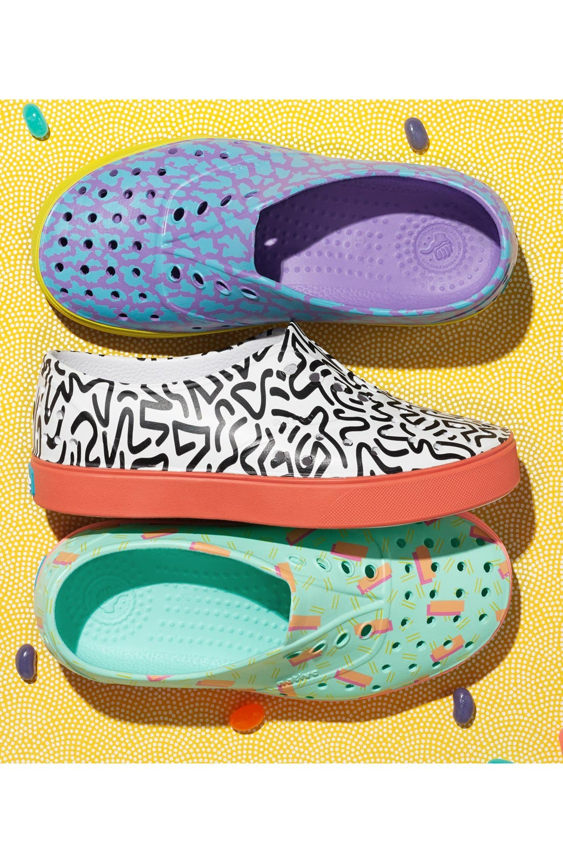 NATIVE SHOES,                             'Miller' Water Friendly Perforated Sneaker,                             Alternate thumbnail 8, color,                             022