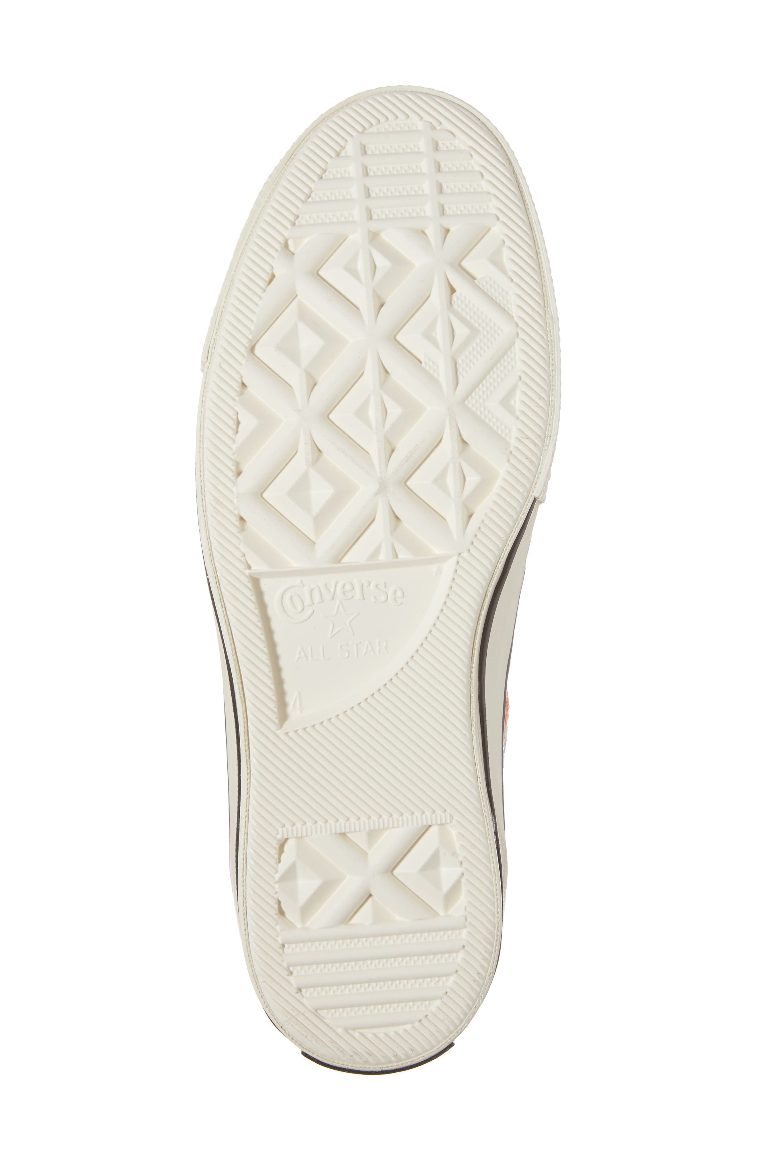 x Mara Hoffman All Star<sup>®</sup> Embroidered High Top Sneaker,                             Alternate thumbnail 12, color,