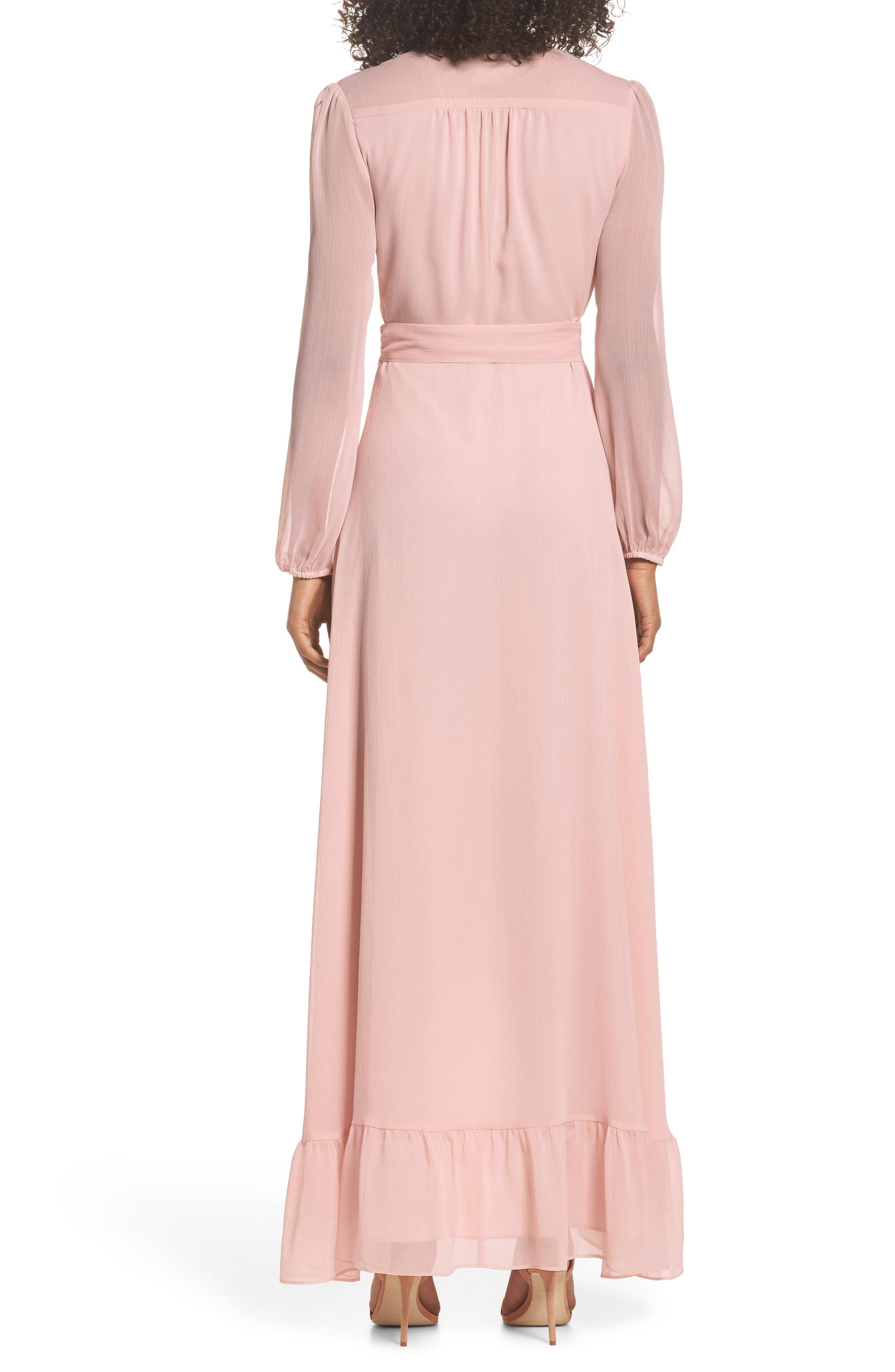Meryl Long Sleeve Wrap Maxi Dress,                             Alternate thumbnail 2, color,                             650