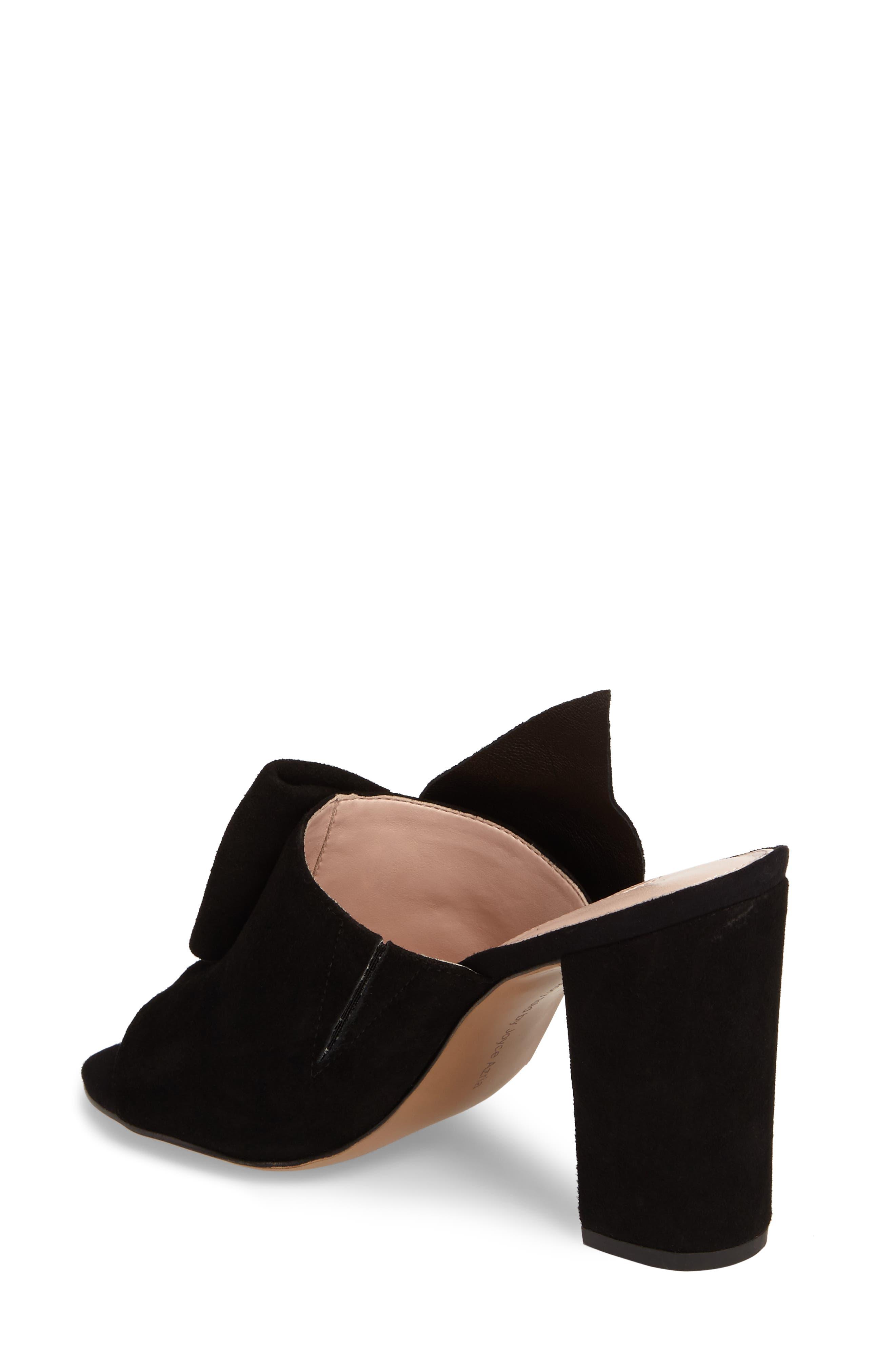 Marie Bow Slide Sandal,                             Alternate thumbnail 2, color,                             002
