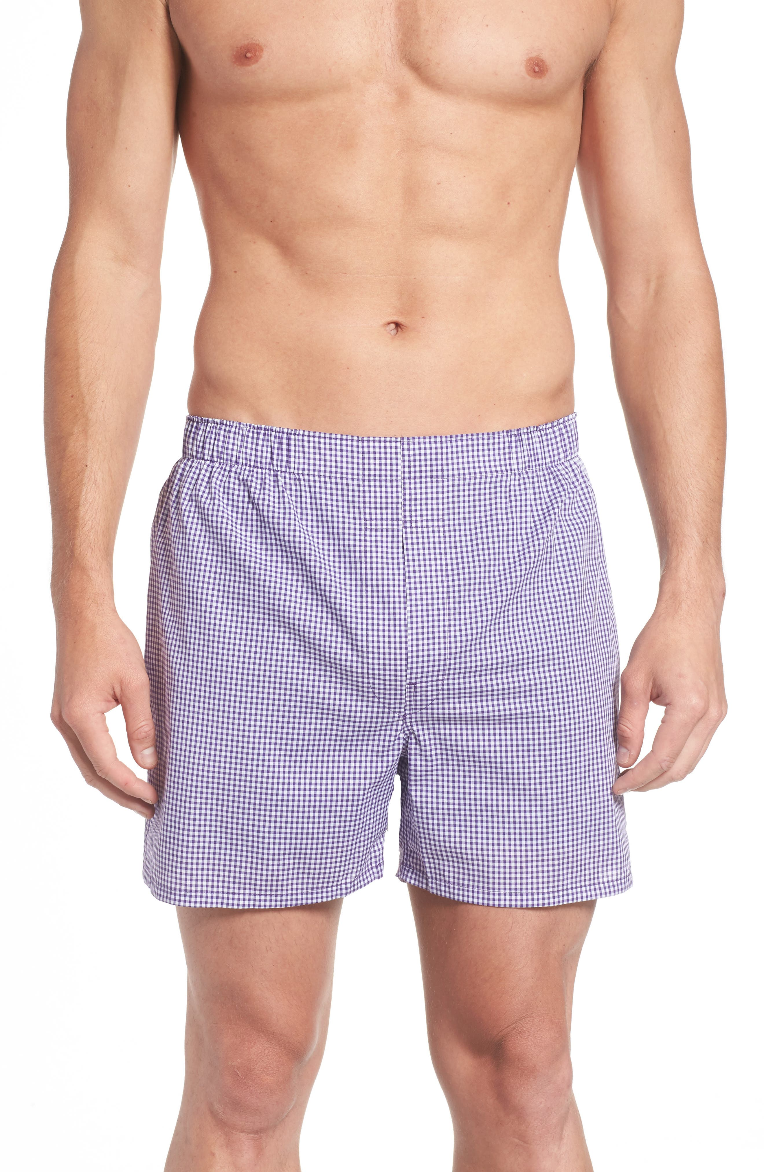 Assorted 3-Pack Woven Cotton Boxers,                             Alternate thumbnail 9, color,