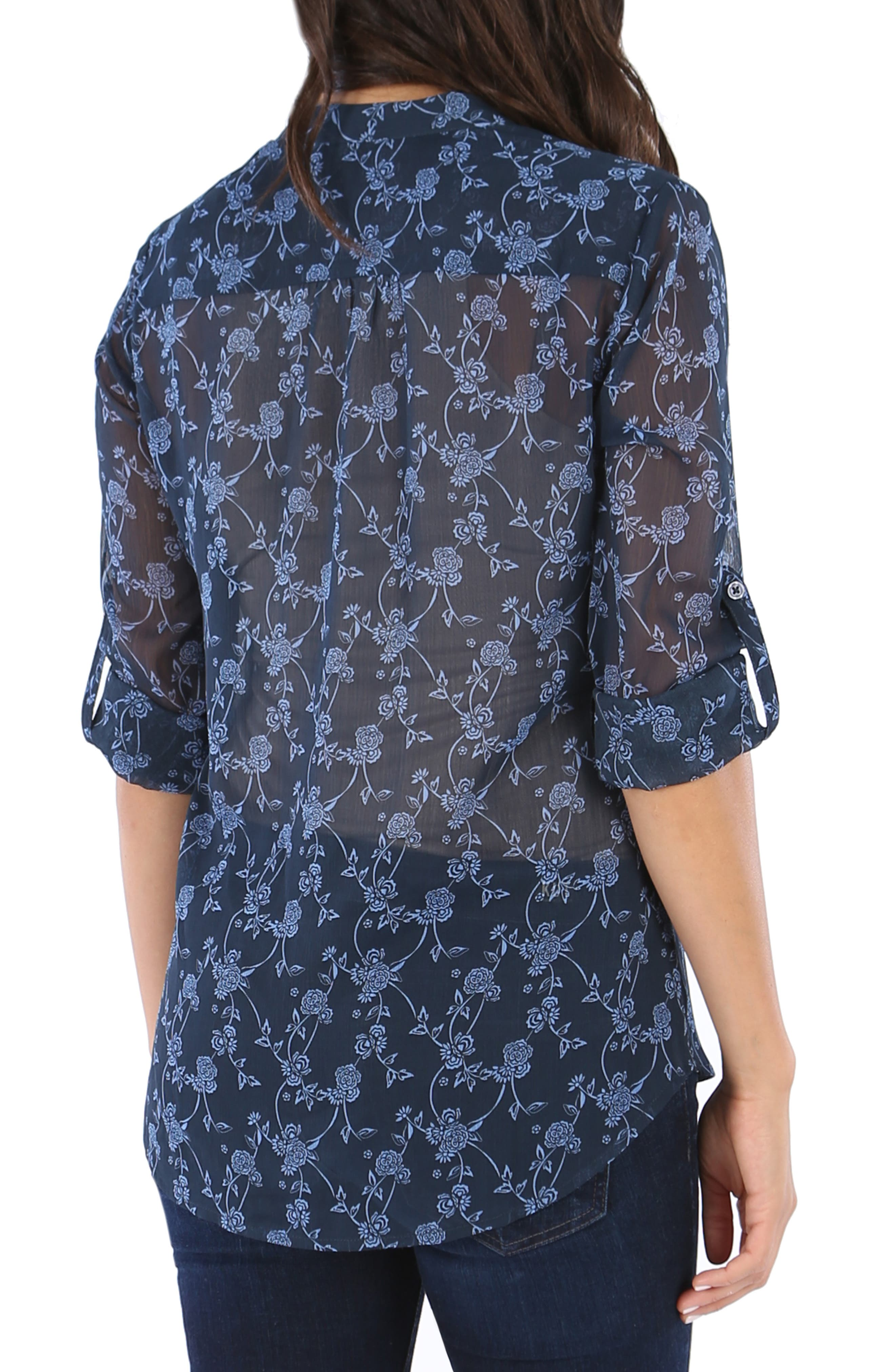 KUT from the the Kloth Jasmine Floral Blouse,                             Alternate thumbnail 2, color,                             416