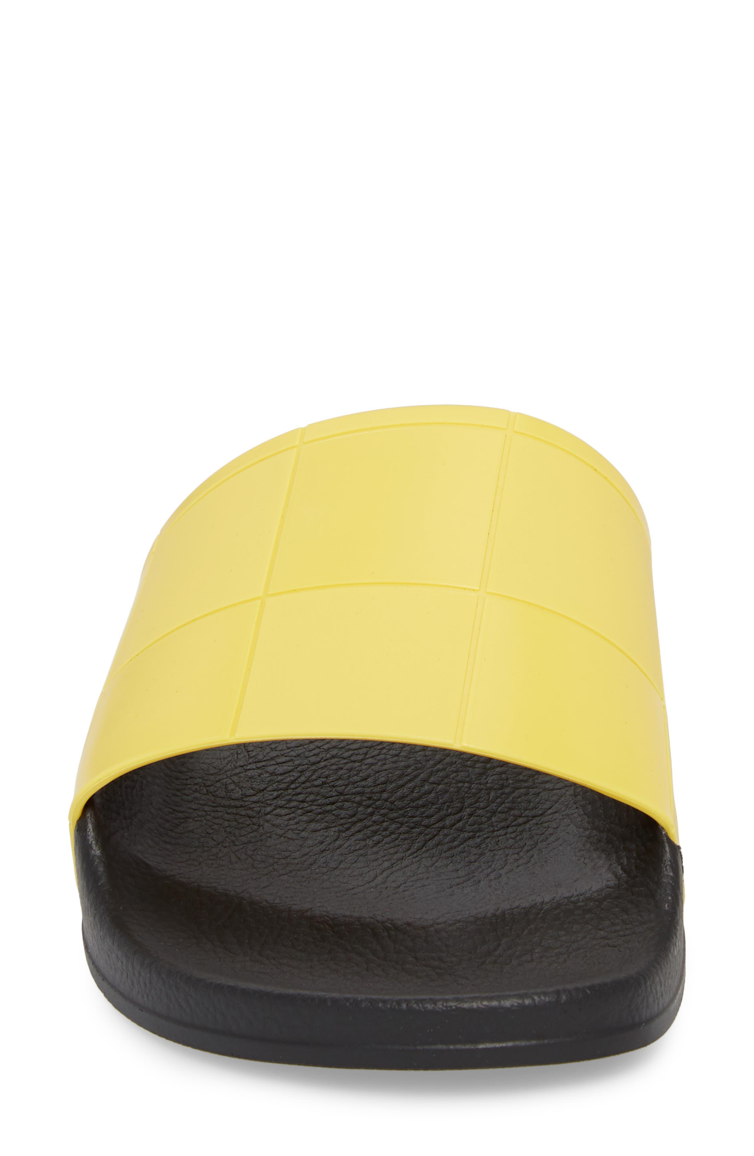 adidas by Raf Simons Adilette Slide Sandal,                             Alternate thumbnail 8, color,