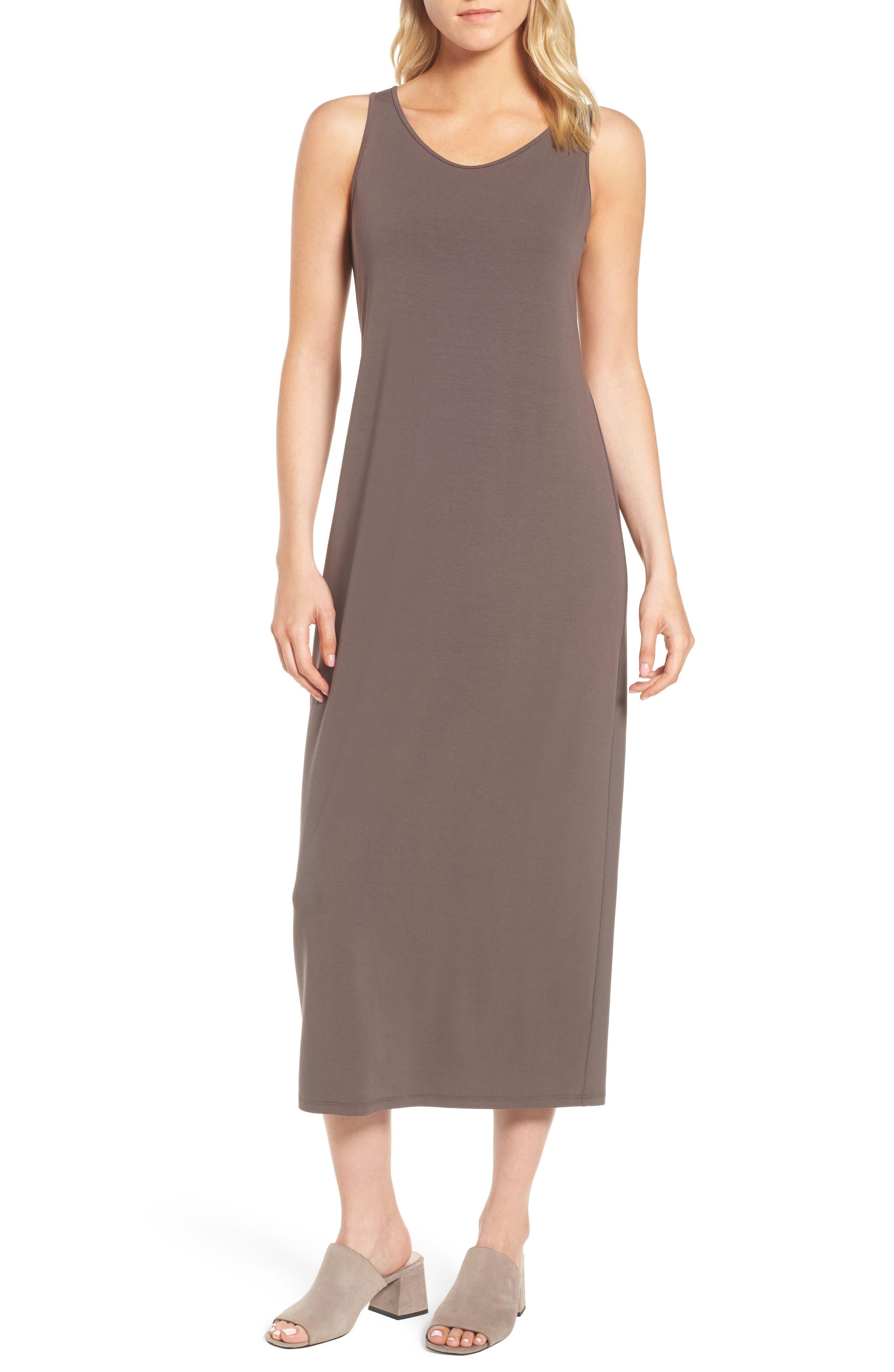 Scoop Neck Jersey Midi Dress,                             Main thumbnail 1, color,                             024