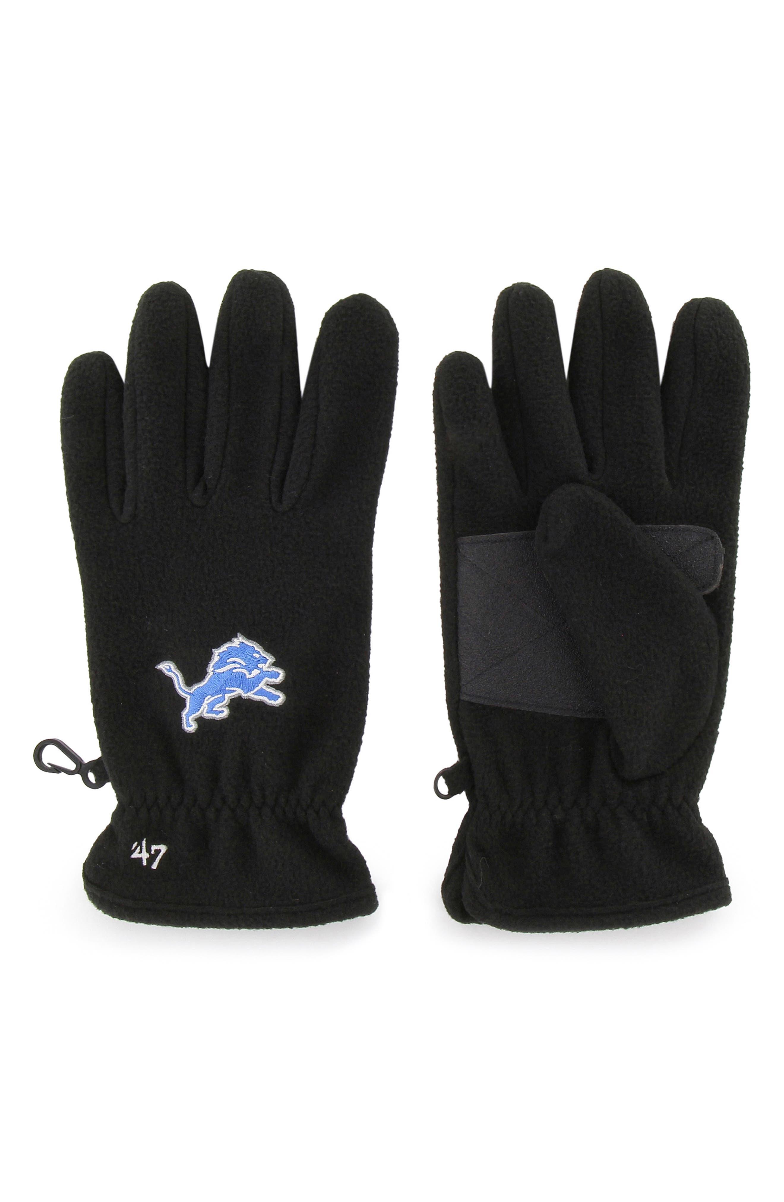 '47 NFL Gloves, Main, color, 001