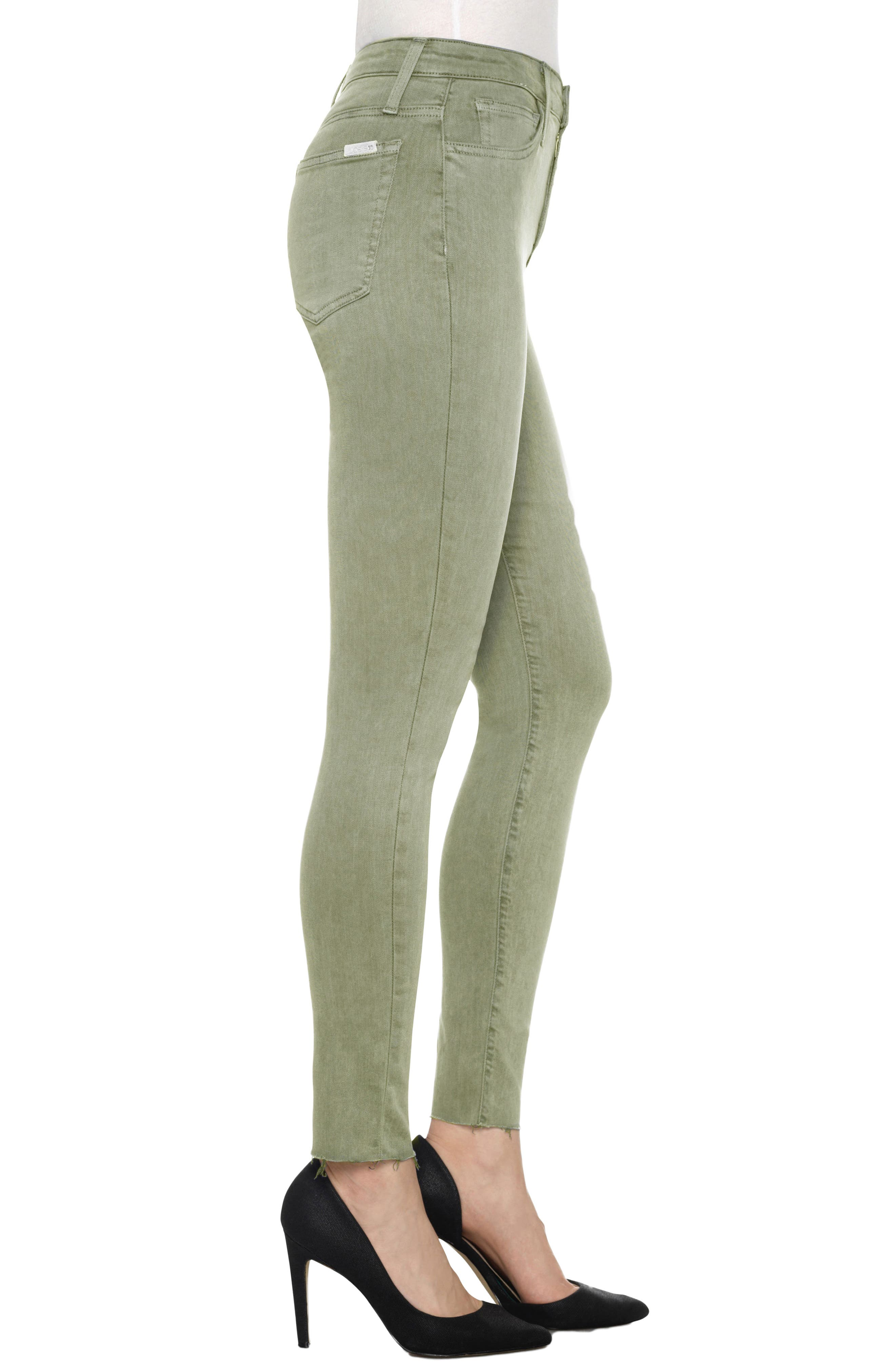 Charlie High Rise Ankle Skinny Jeans,                             Alternate thumbnail 24, color,