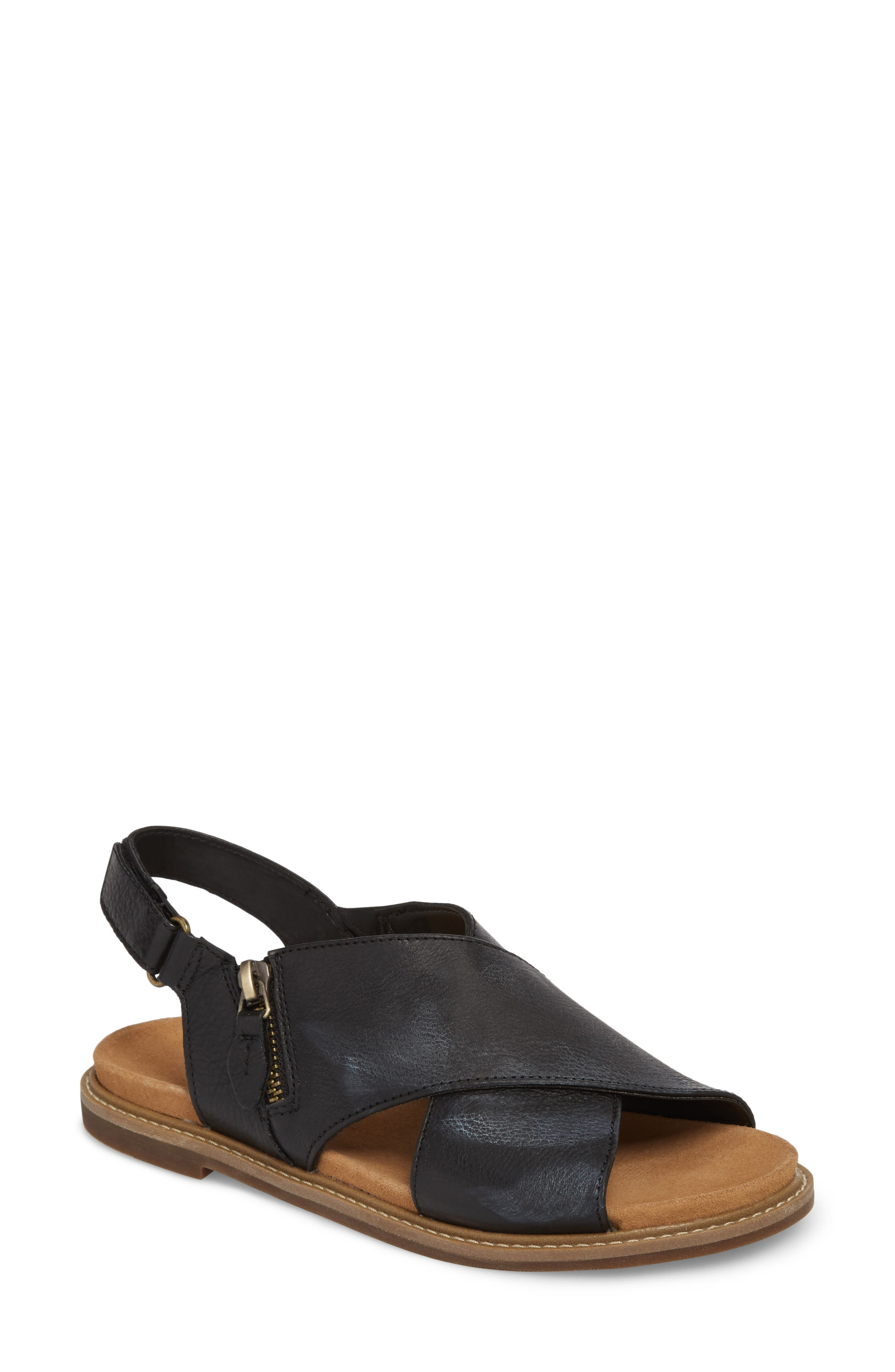 Corsio Calm Sandal,                             Main thumbnail 1, color,                             003