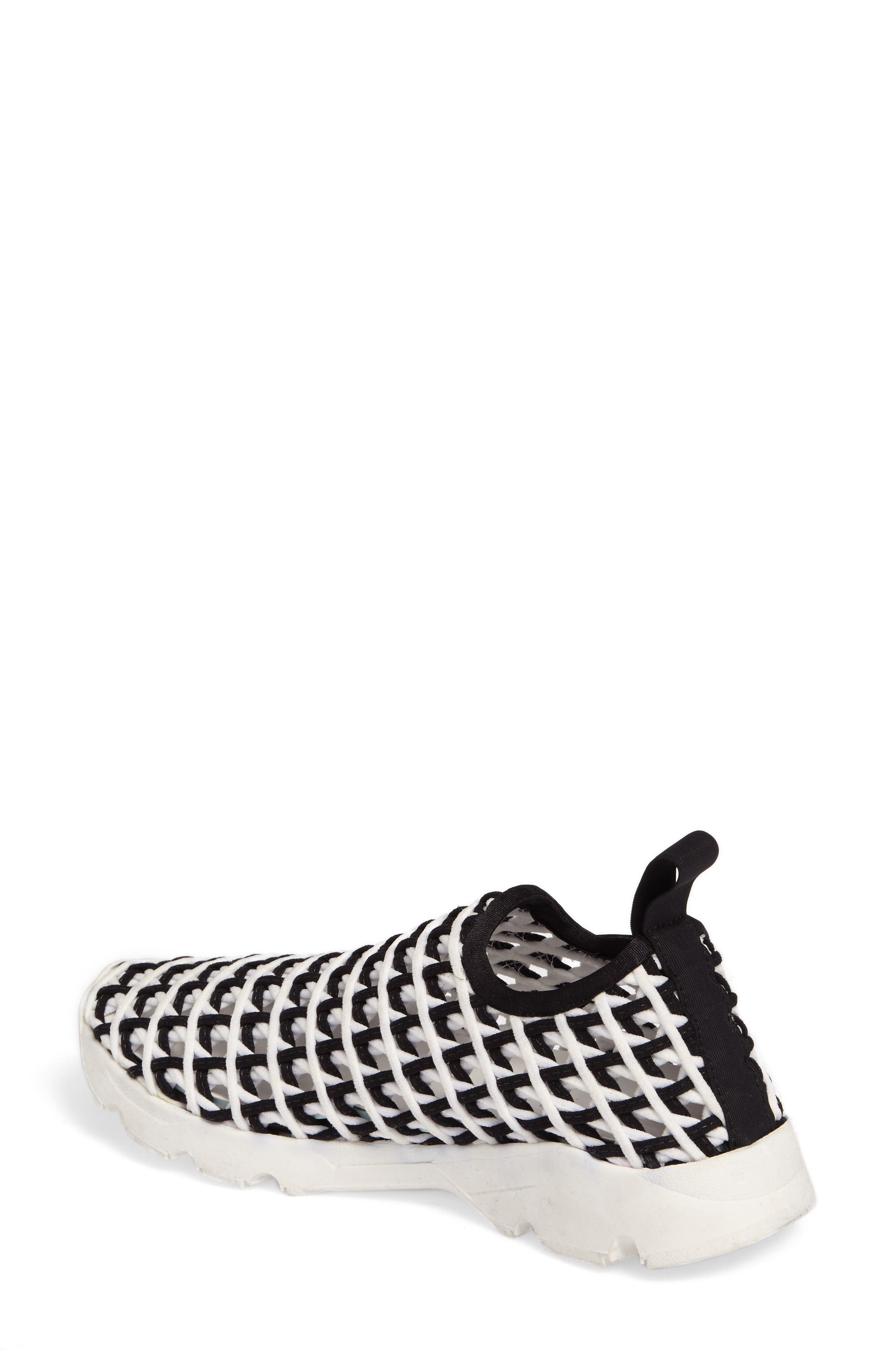 Willow Open Knit Sneaker,                             Alternate thumbnail 2, color,                             001