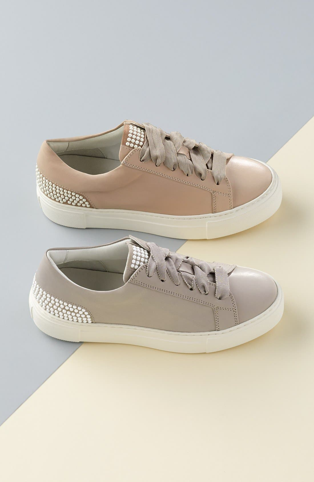 Pearl Sneaker,                             Alternate thumbnail 7, color,                             BLACK