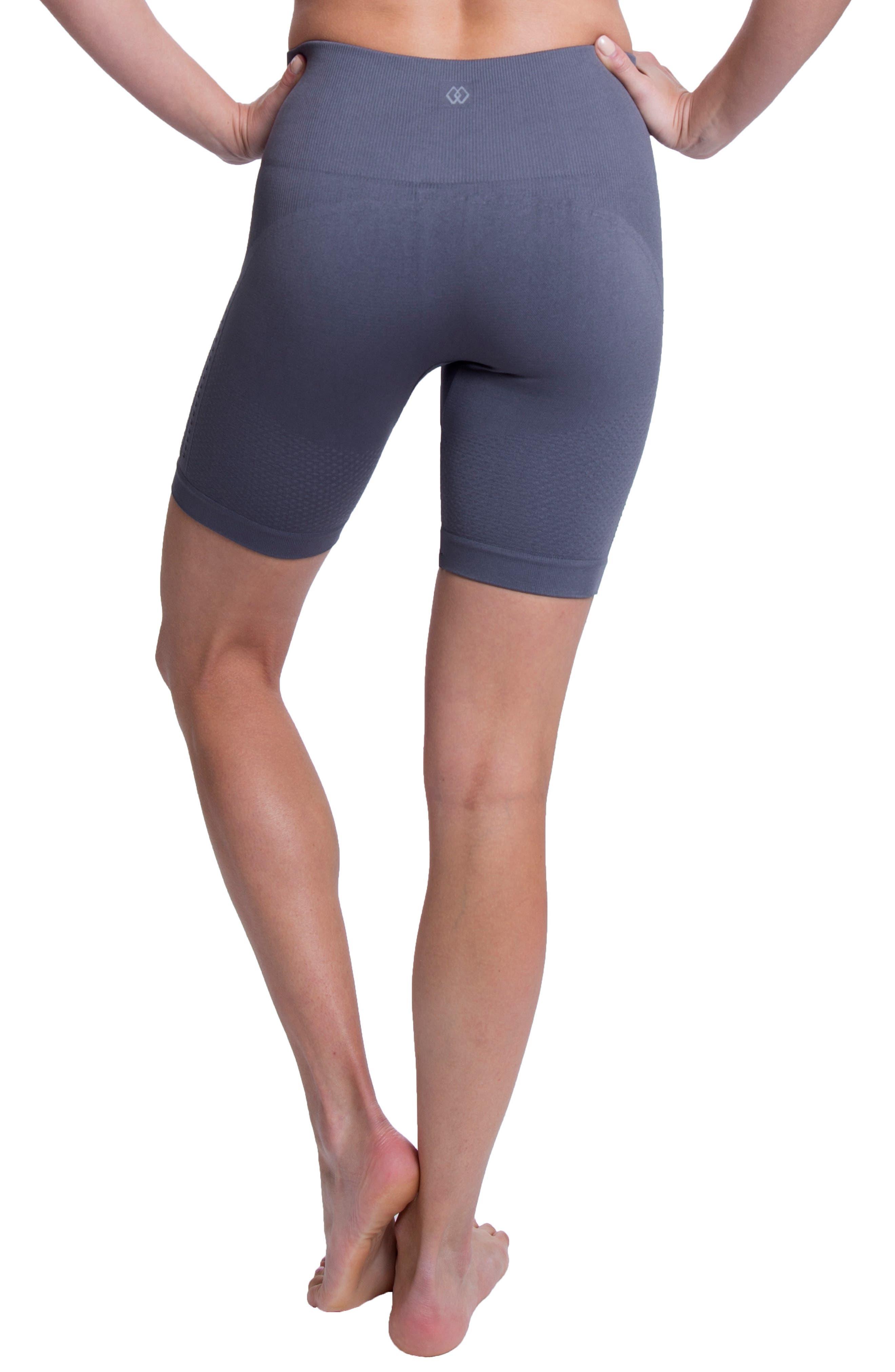 Momentum Seamless Biker Shorts,                             Alternate thumbnail 2, color,                             SHARK