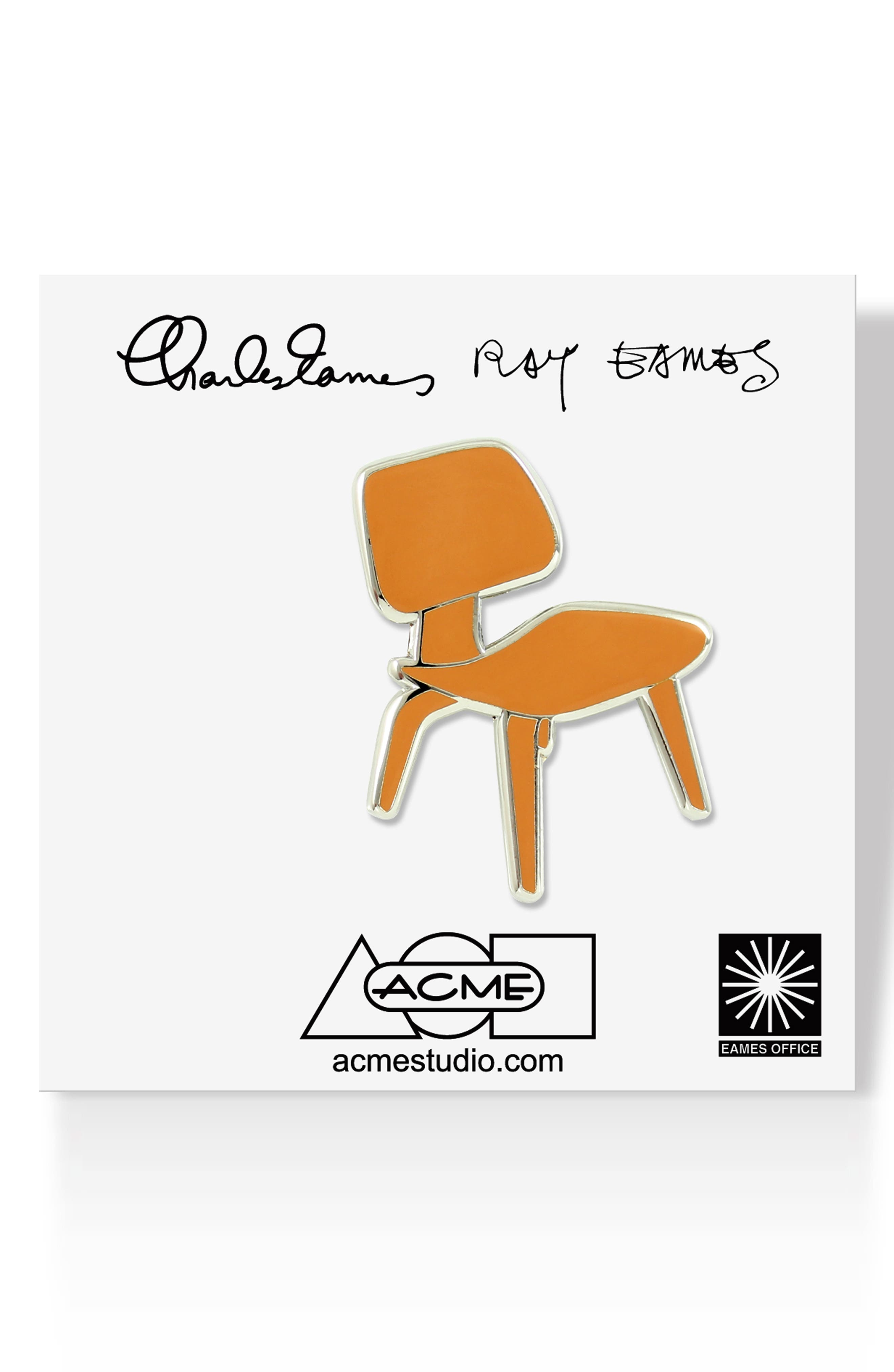 Eames DCW Pin,                         Main,                         color, BROWN
