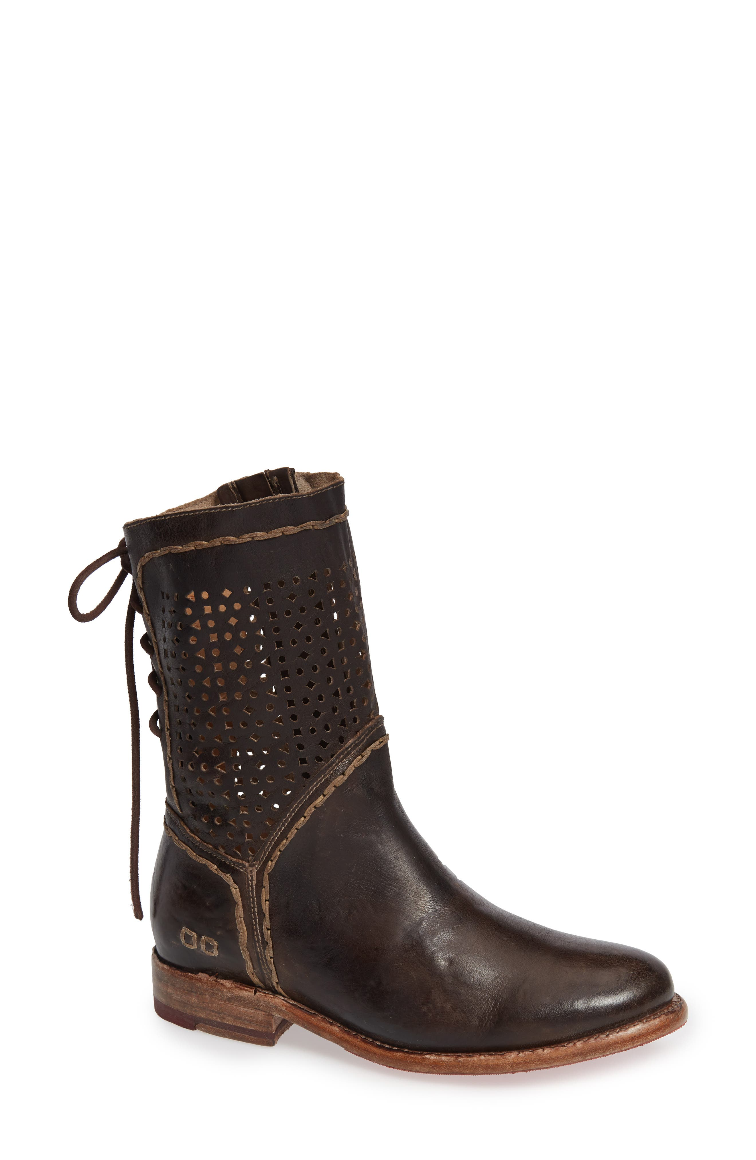 Bed Stu Cheshire Perforated Shaft Boot