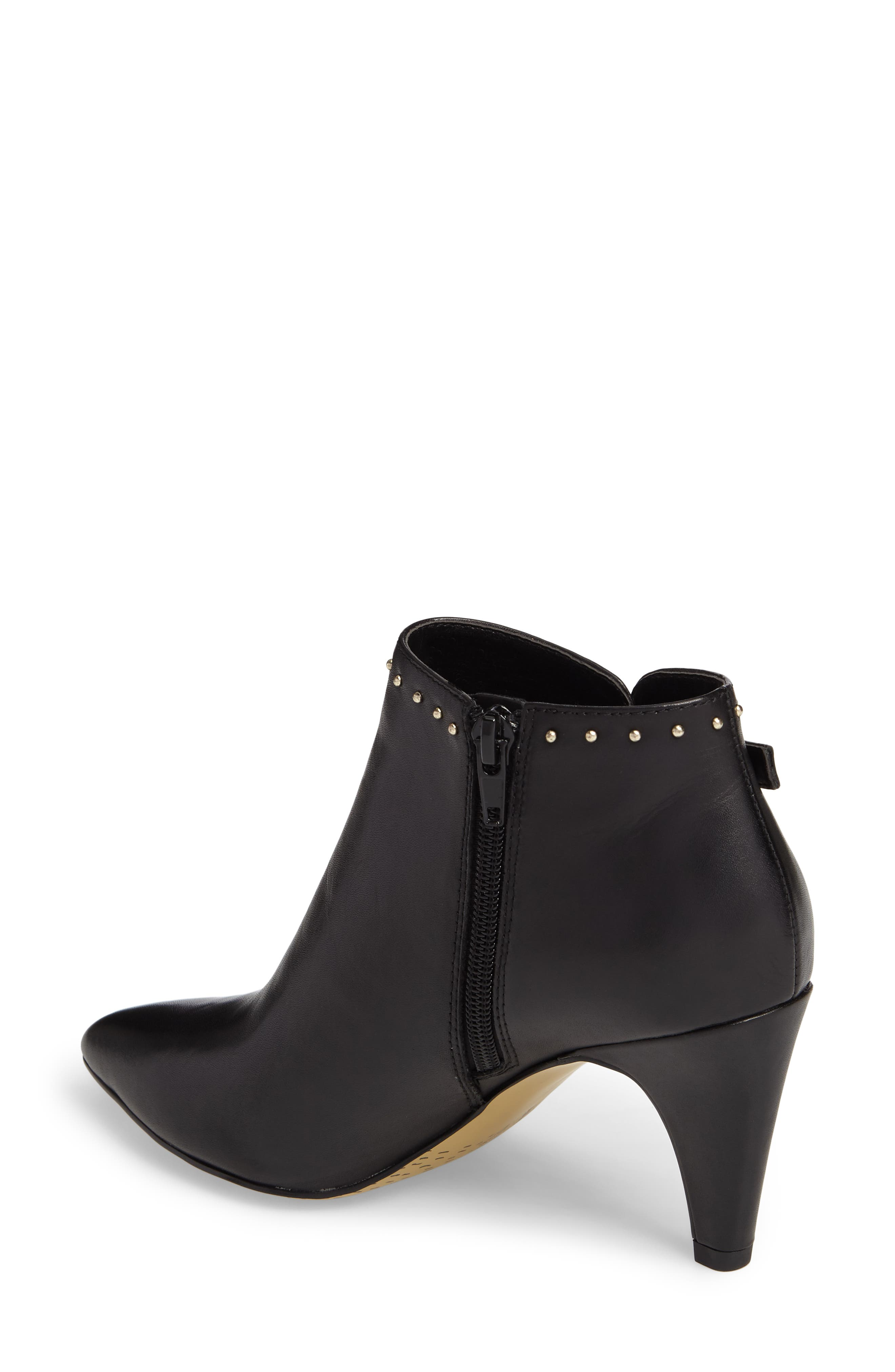 Delfina Pointy Toe Bootie,                             Alternate thumbnail 2, color,                             001