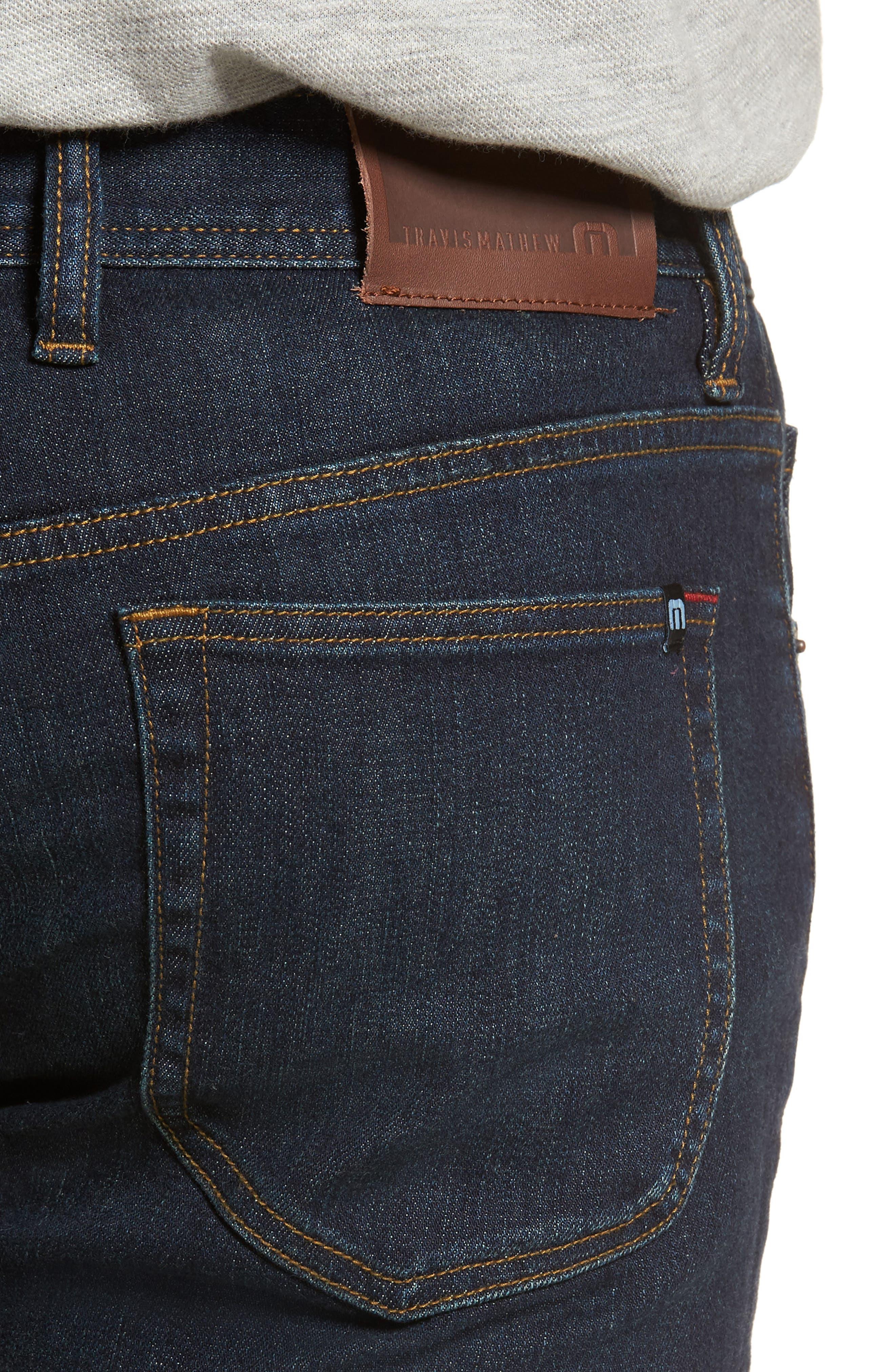 The Standard Regular Fit Straight Leg Jeans,                             Alternate thumbnail 8, color,