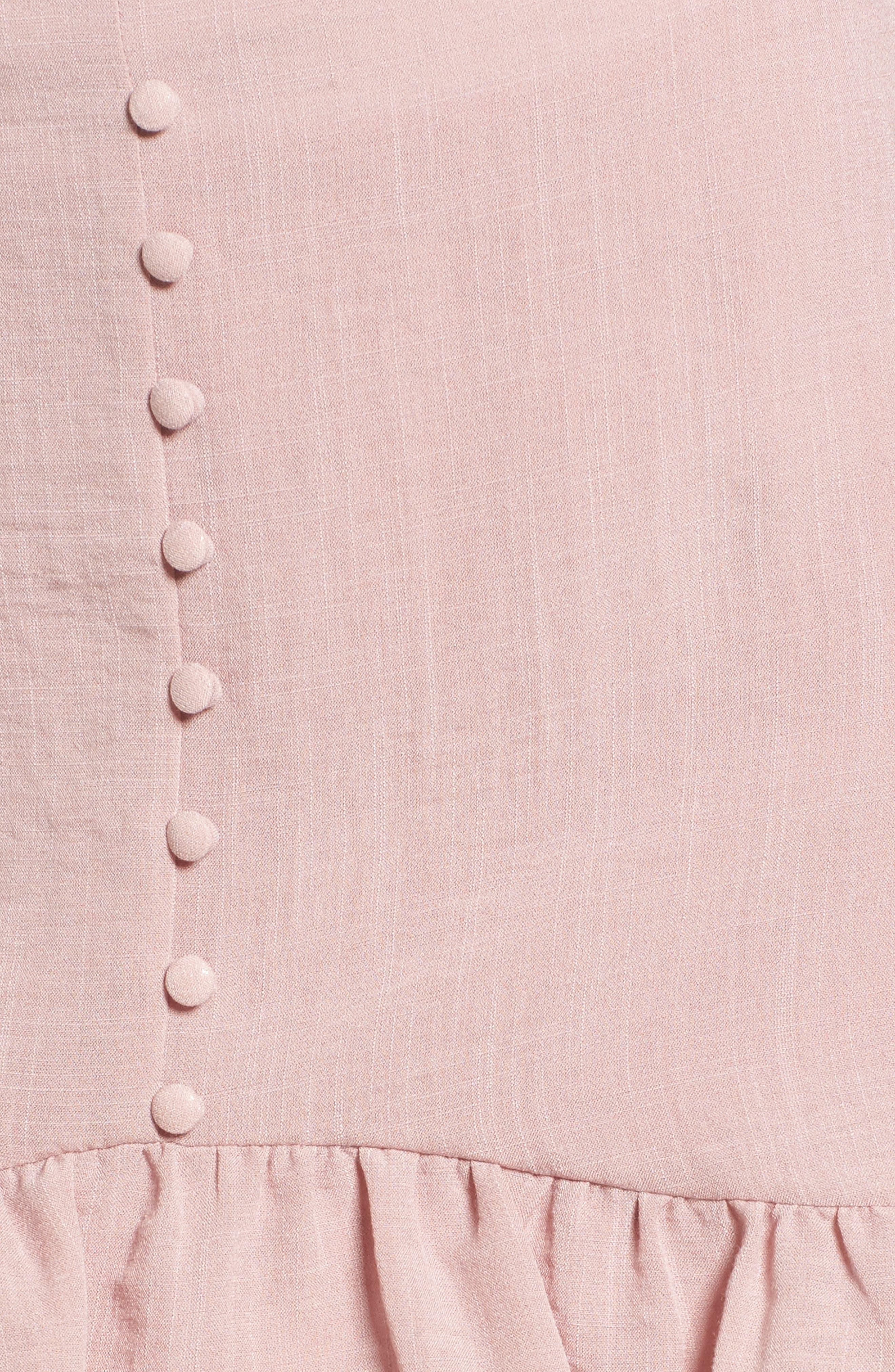 Peony Ruffle Hem Skirt,                             Alternate thumbnail 5, color,                             681