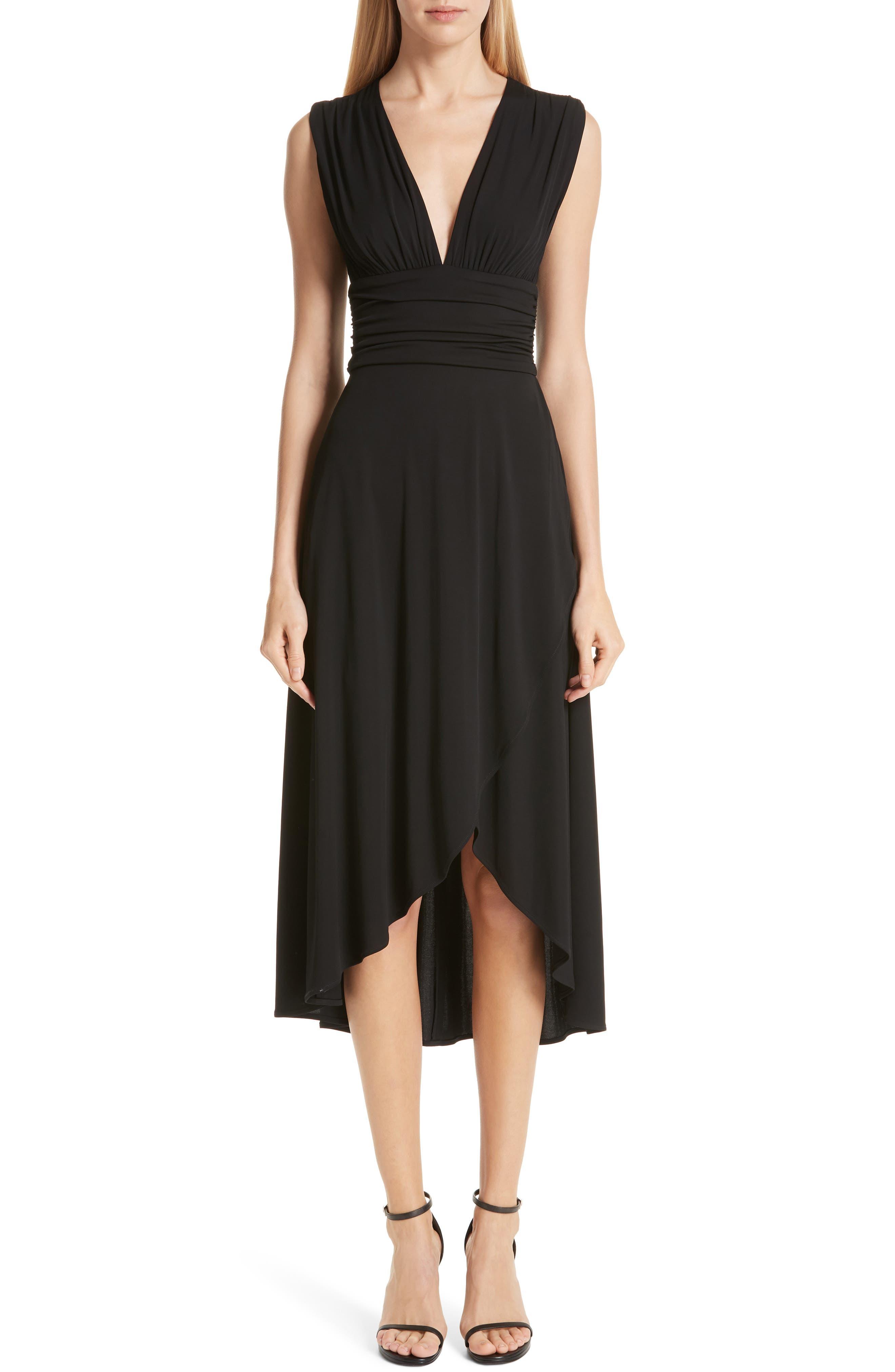 Yigal Azrouel Matte Jersey Dress, Black