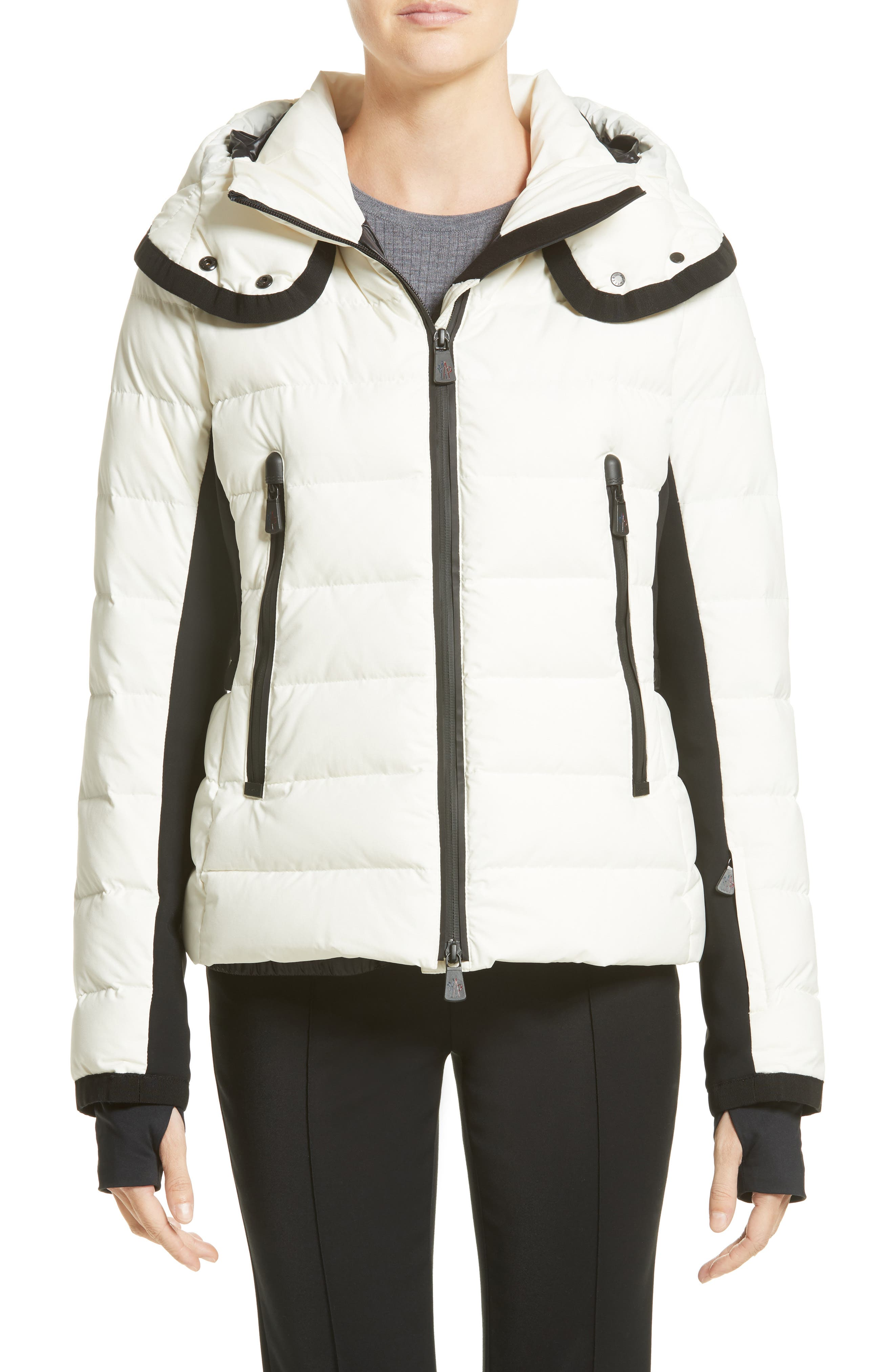 Lamoura Quilted Down Puffer Coat,                             Main thumbnail 1, color,                             WHITE