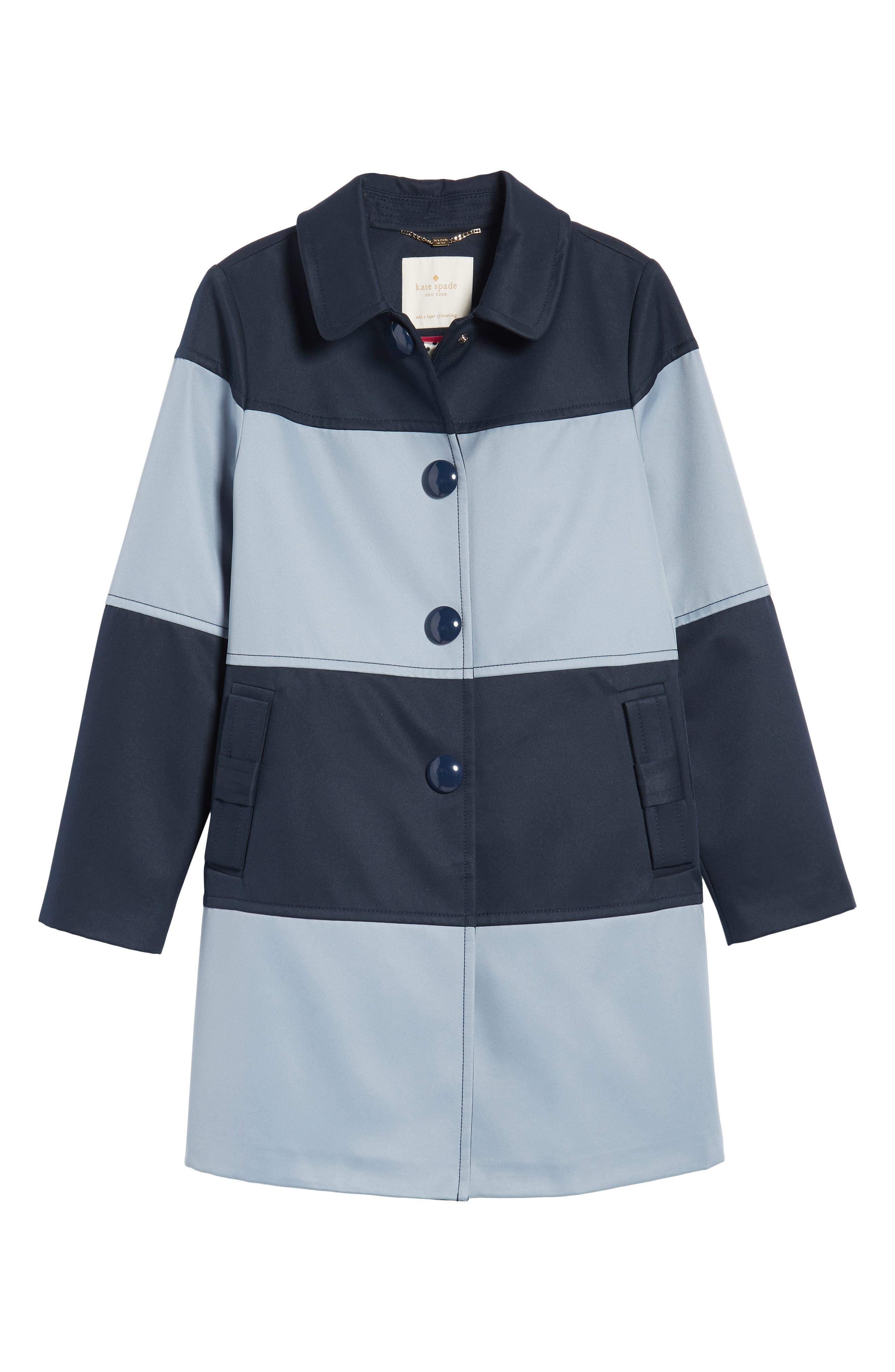 colorblock raincoat,                             Alternate thumbnail 6, color,                             400
