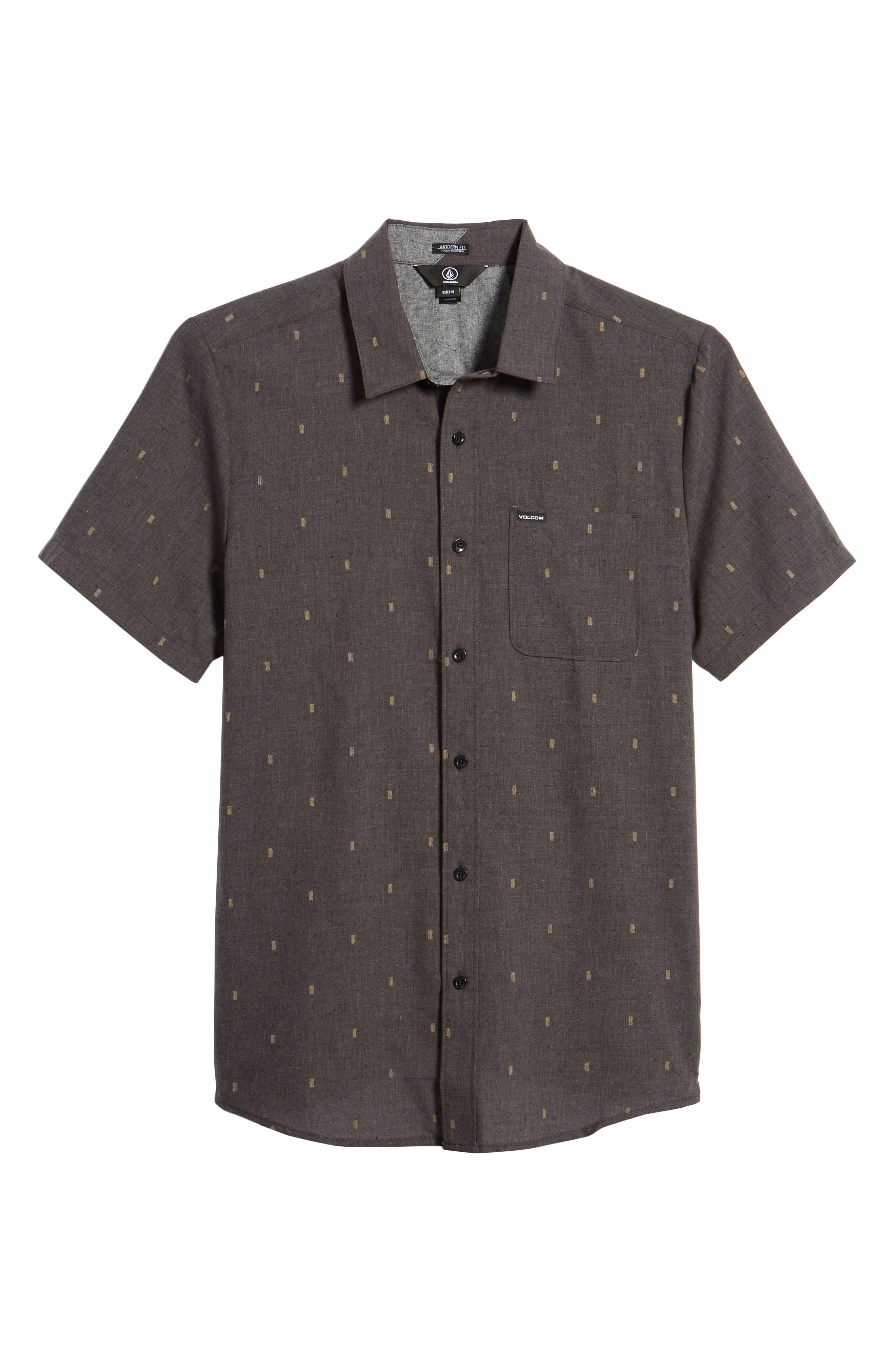 Gladstone Short Sleeve Shirt,                             Alternate thumbnail 6, color,                             001