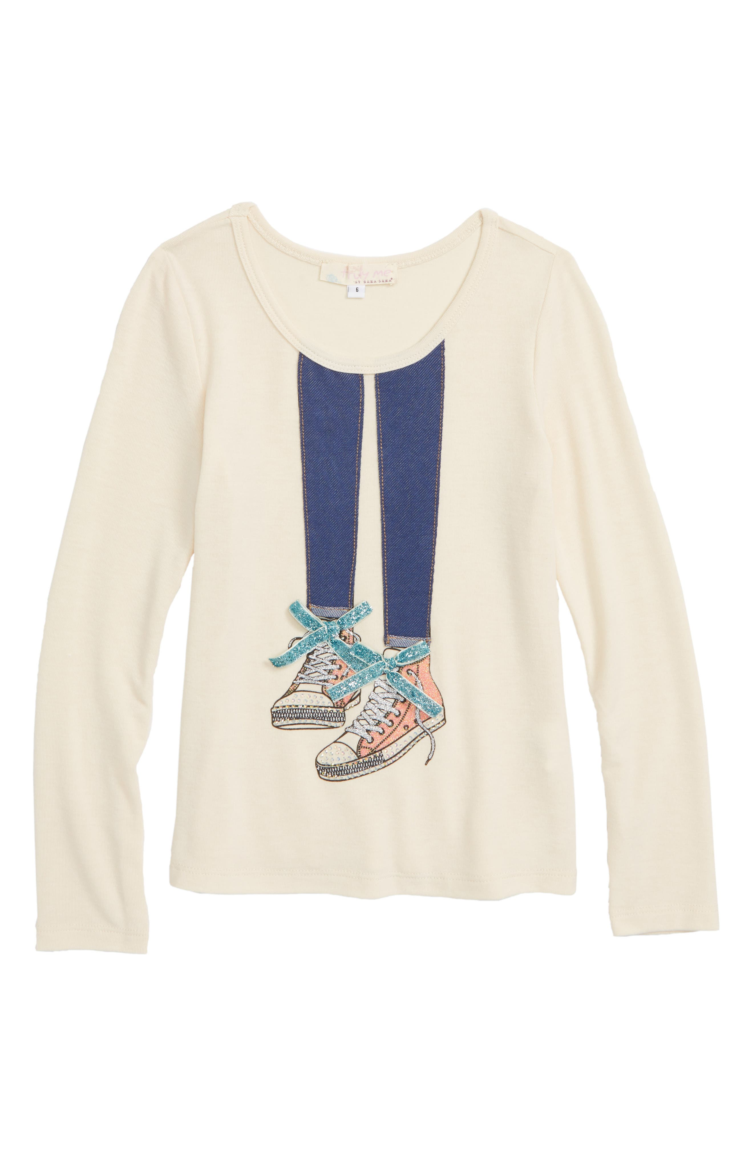Graphic Long Sleeve Tee,                         Main,                         color, 299