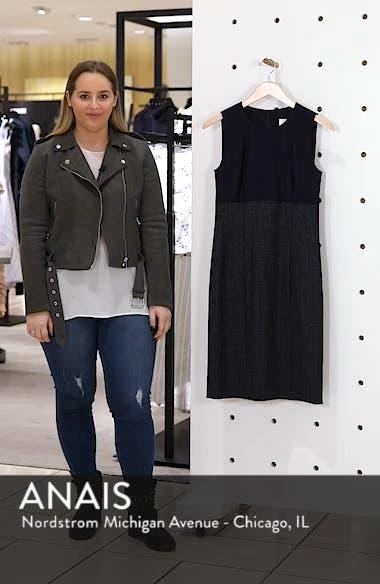 Dibena Windowpane Sheath Dress, sales video thumbnail