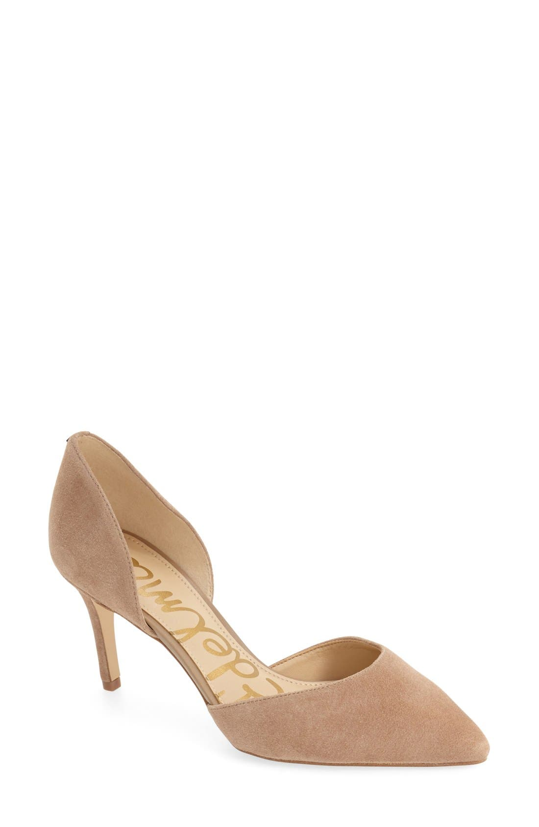 'Telsa' d'Orsay Pointy Toe Pump,                             Main thumbnail 10, color,