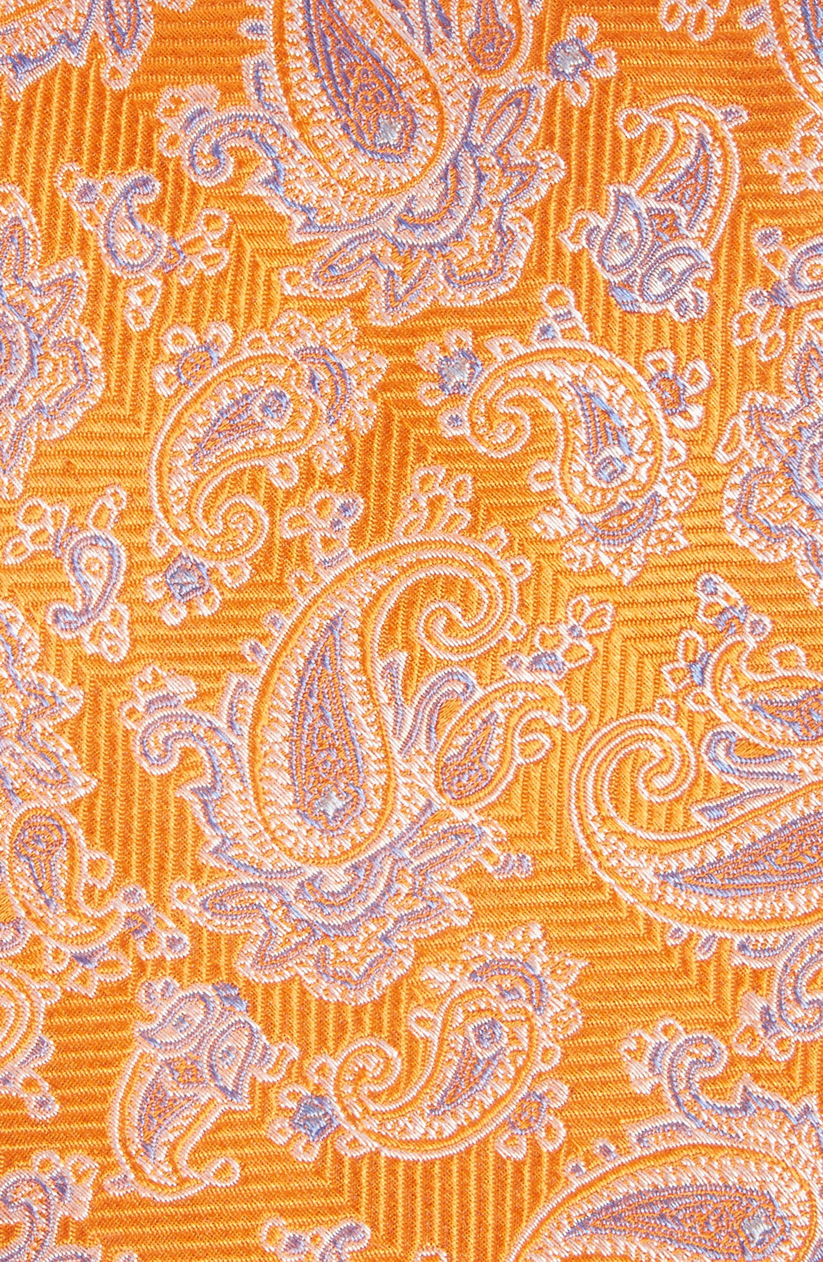 Paisley Silk Tie,                             Alternate thumbnail 8, color,