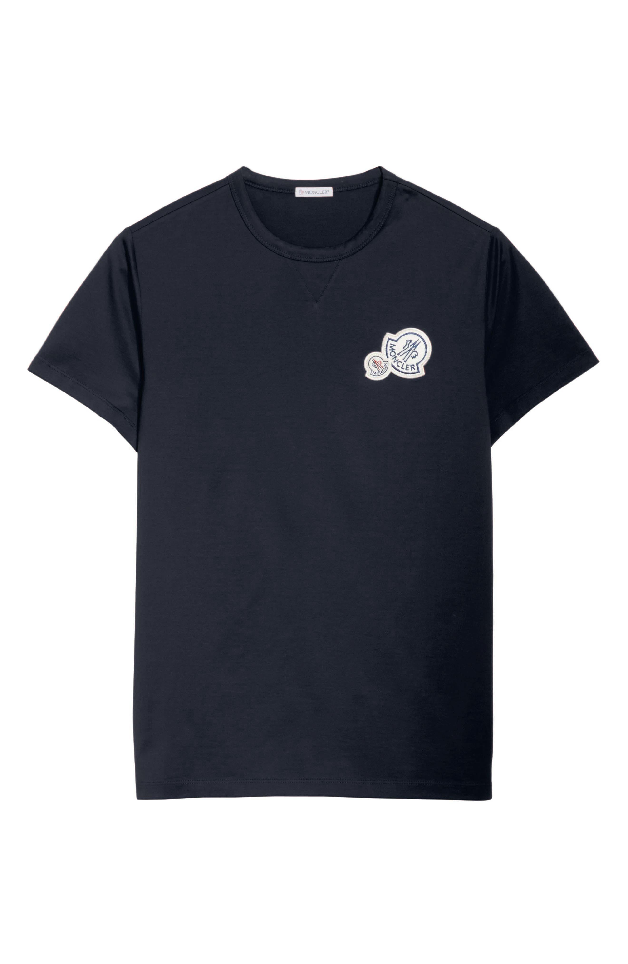Patch T-Shirt,                             Alternate thumbnail 6, color,                             NAVY