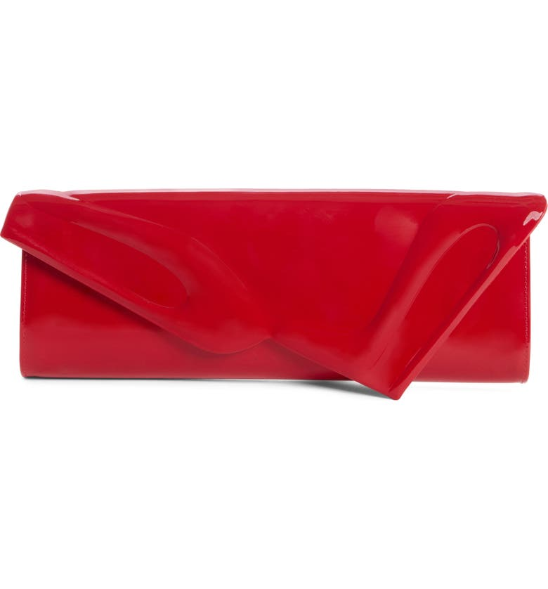 So Kate Patent Leather Clutch