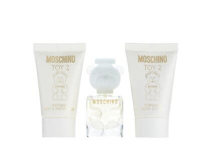 Moschino gift with purchase.