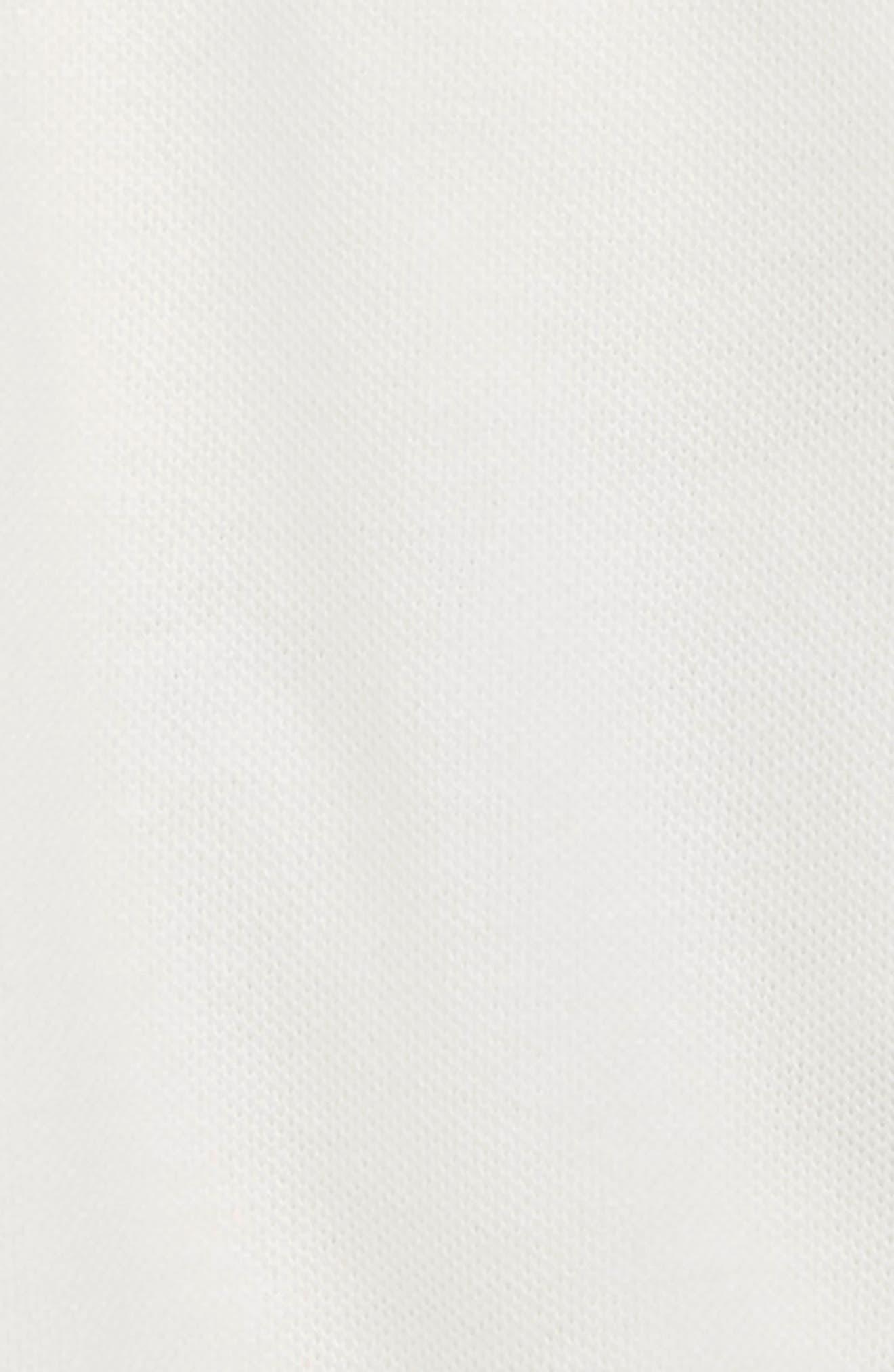 Cotton Piqué Long Sleeve Polo,                             Alternate thumbnail 2, color,                             100