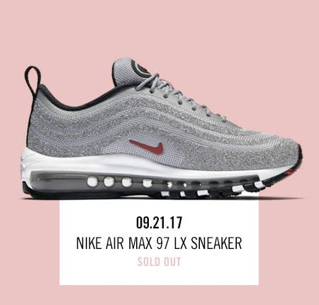 Nordstrom x Nike: new and hot Nike Air Max 97 LX Sneaker.
