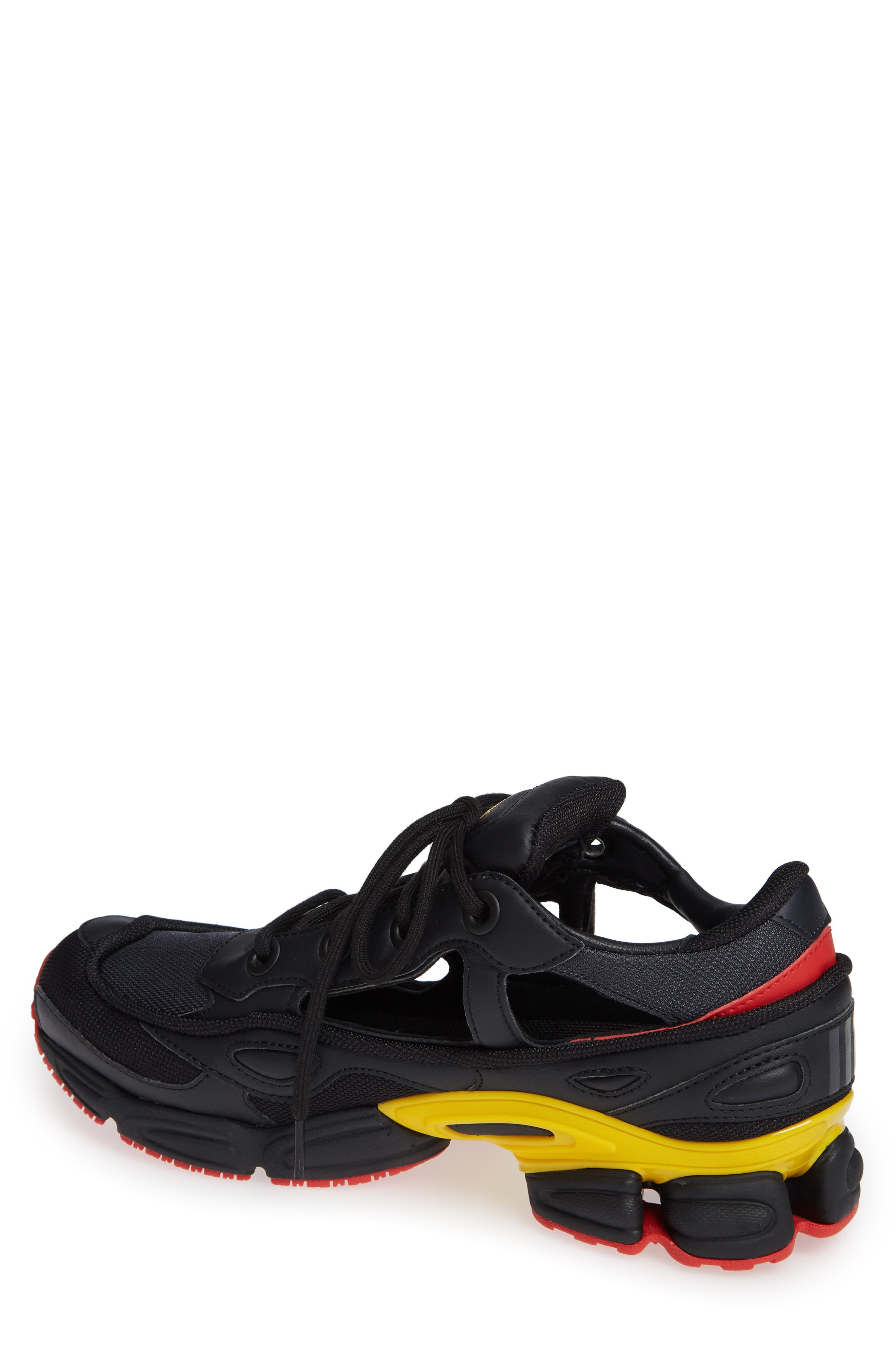 adidas by Raf Simons Replicant Ozweego Sneaker,                             Alternate thumbnail 2, color,                             CORE BLACK/ NIGHT GREY