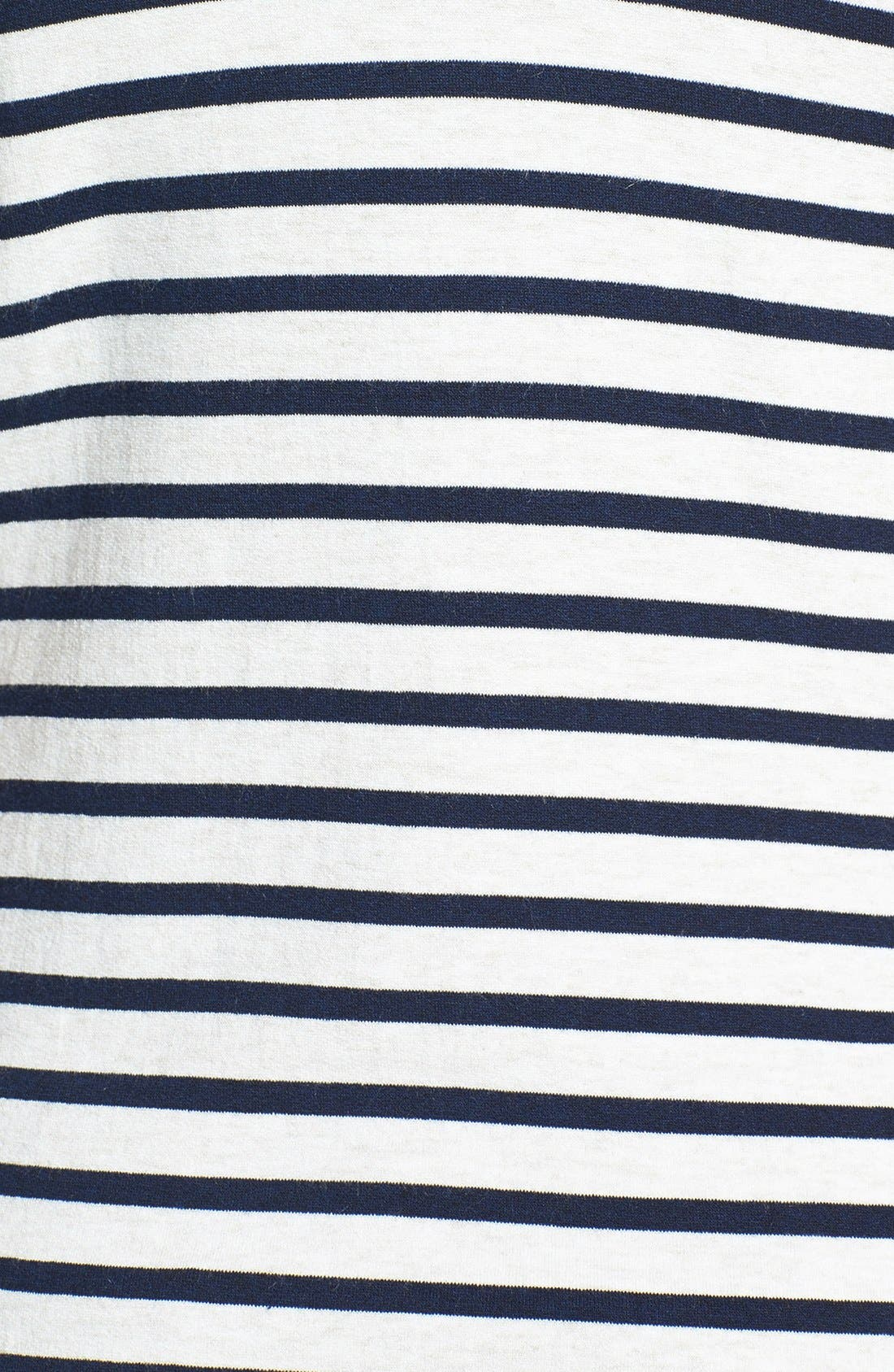 'Matey' Stripe French Terry Tank,                             Alternate thumbnail 3, color,                             411