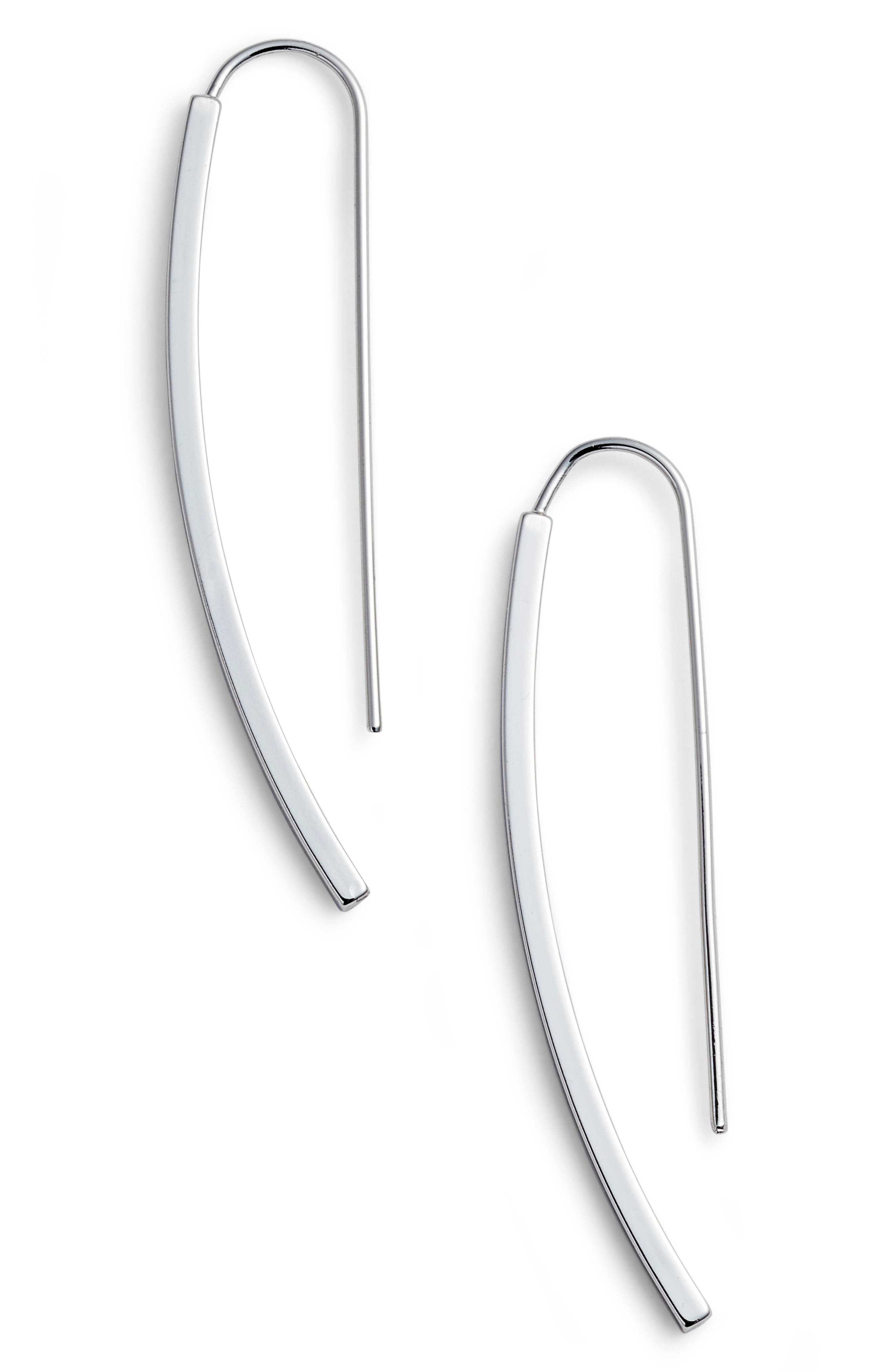 Threader Earrings,                             Main thumbnail 1, color,                             040