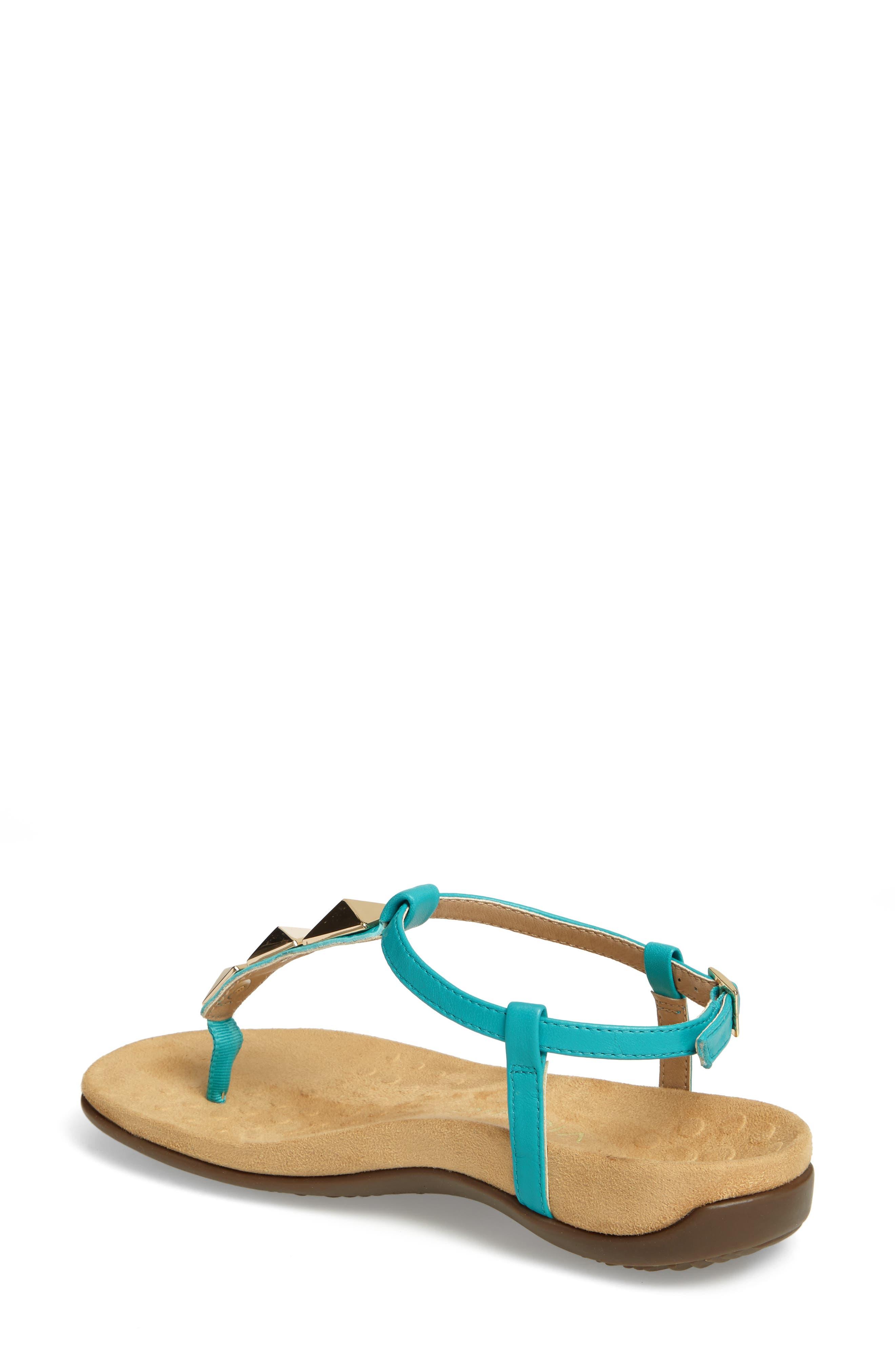 Nala T-Strap Sandal,                             Alternate thumbnail 9, color,