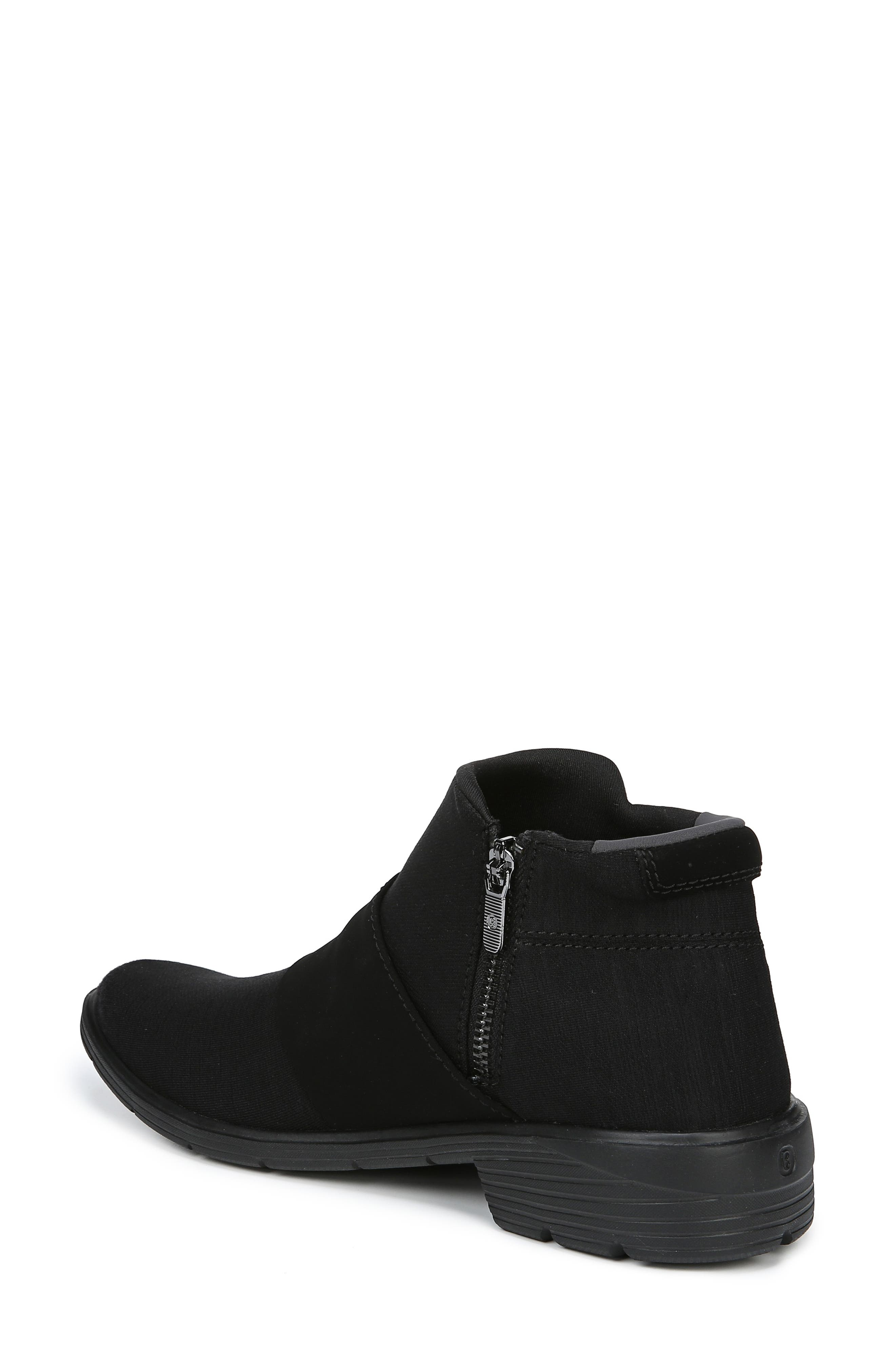 Billie Bootie,                             Alternate thumbnail 2, color,                             BLACK THICK HEATHER FABRIC