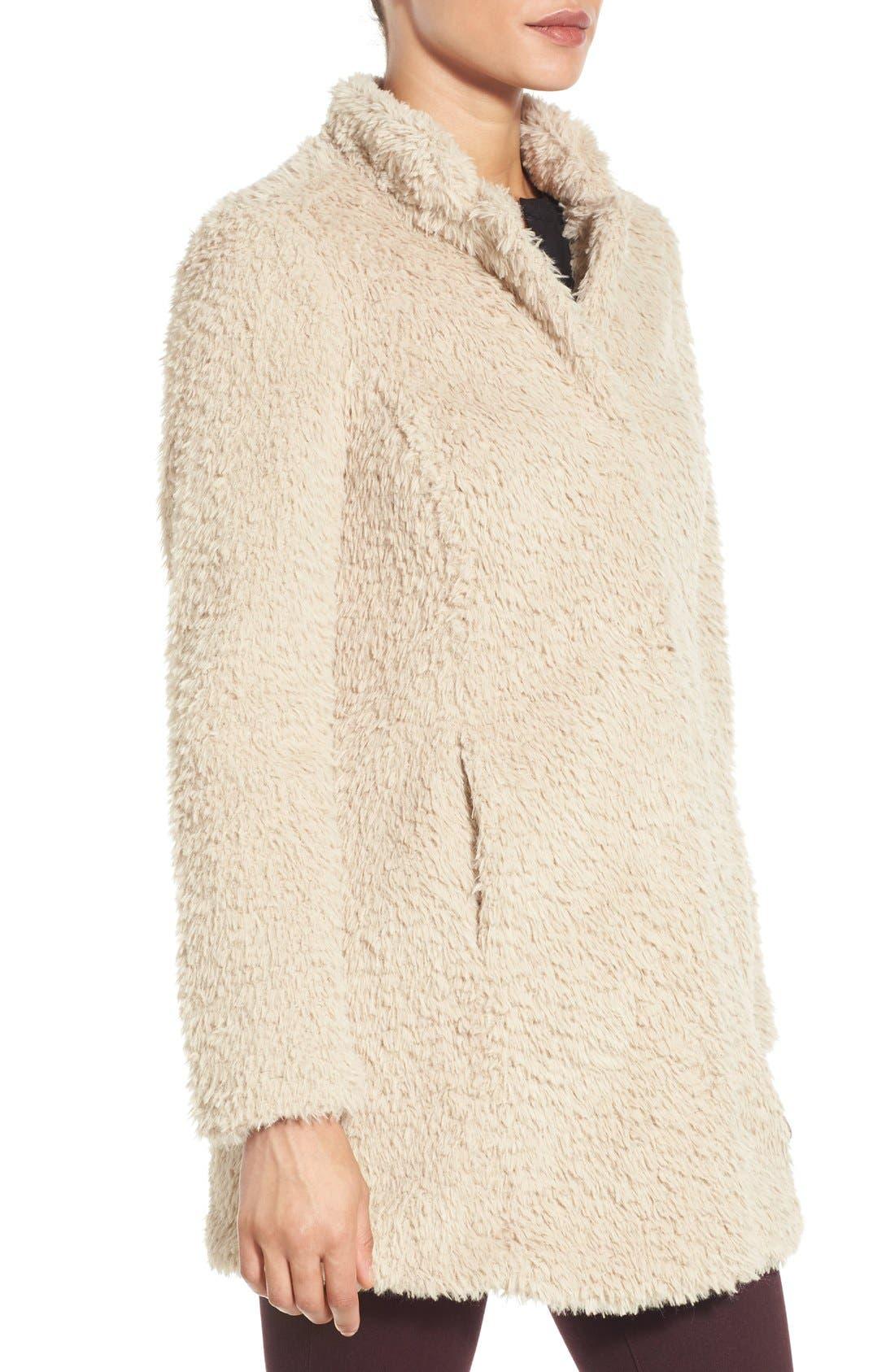 Faux Fur Jacket,                             Alternate thumbnail 12, color,
