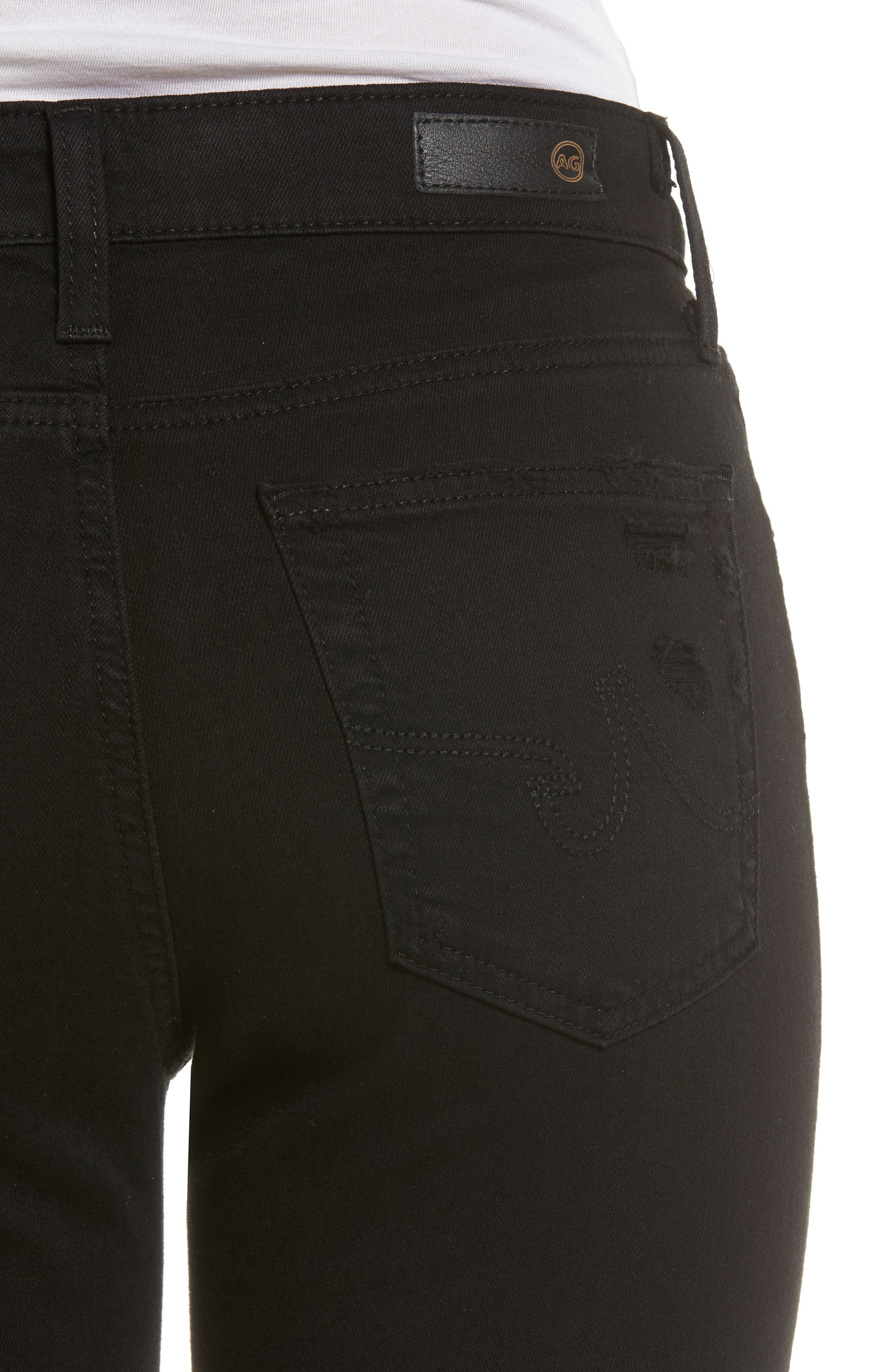 The Farrah High Waist Ankle Skinny Faux Leather Pants,                             Alternate thumbnail 11, color,